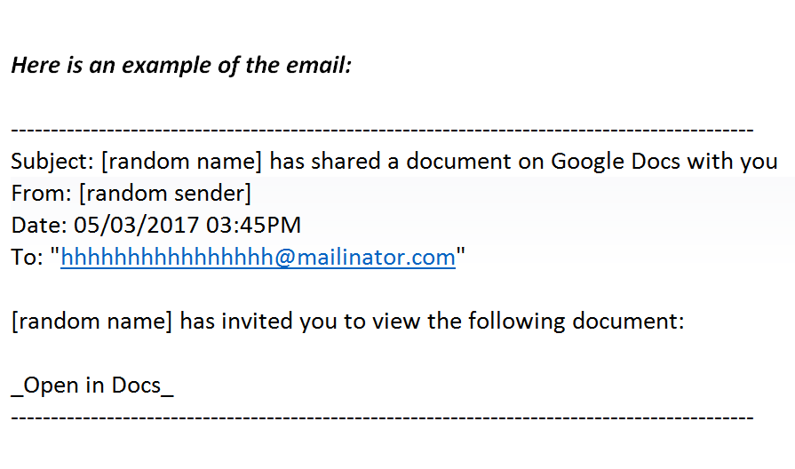 Did You Get A Weird Invitation To Edit A Google Doc Its Best Not - Public google docs