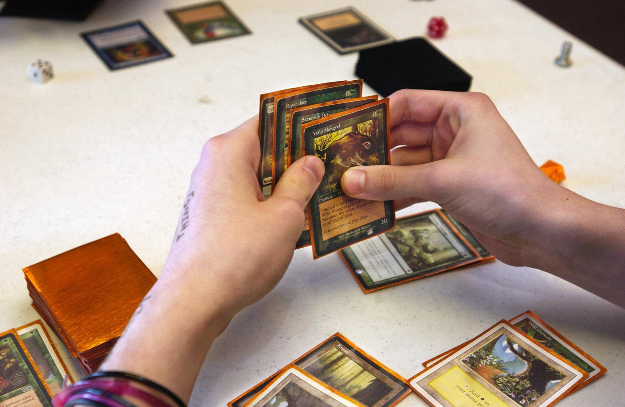 932b4eb41da Creators of Magic  The Gathering say 20 million people worldwide play the  card-trading game.