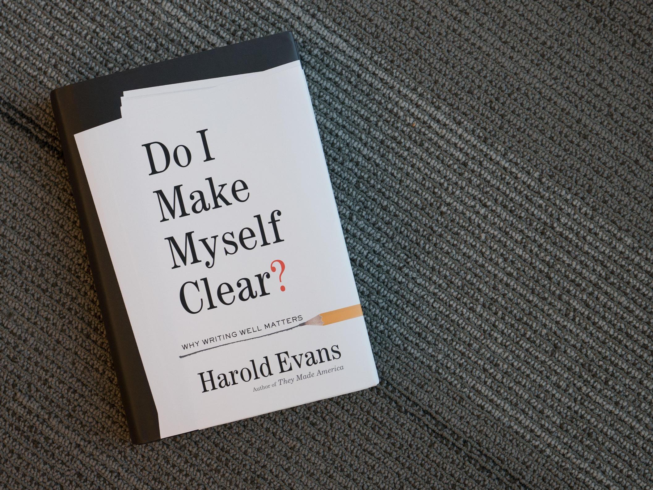 Harold Evans Makes Himself Clear: No More Passive Voice | WPSU