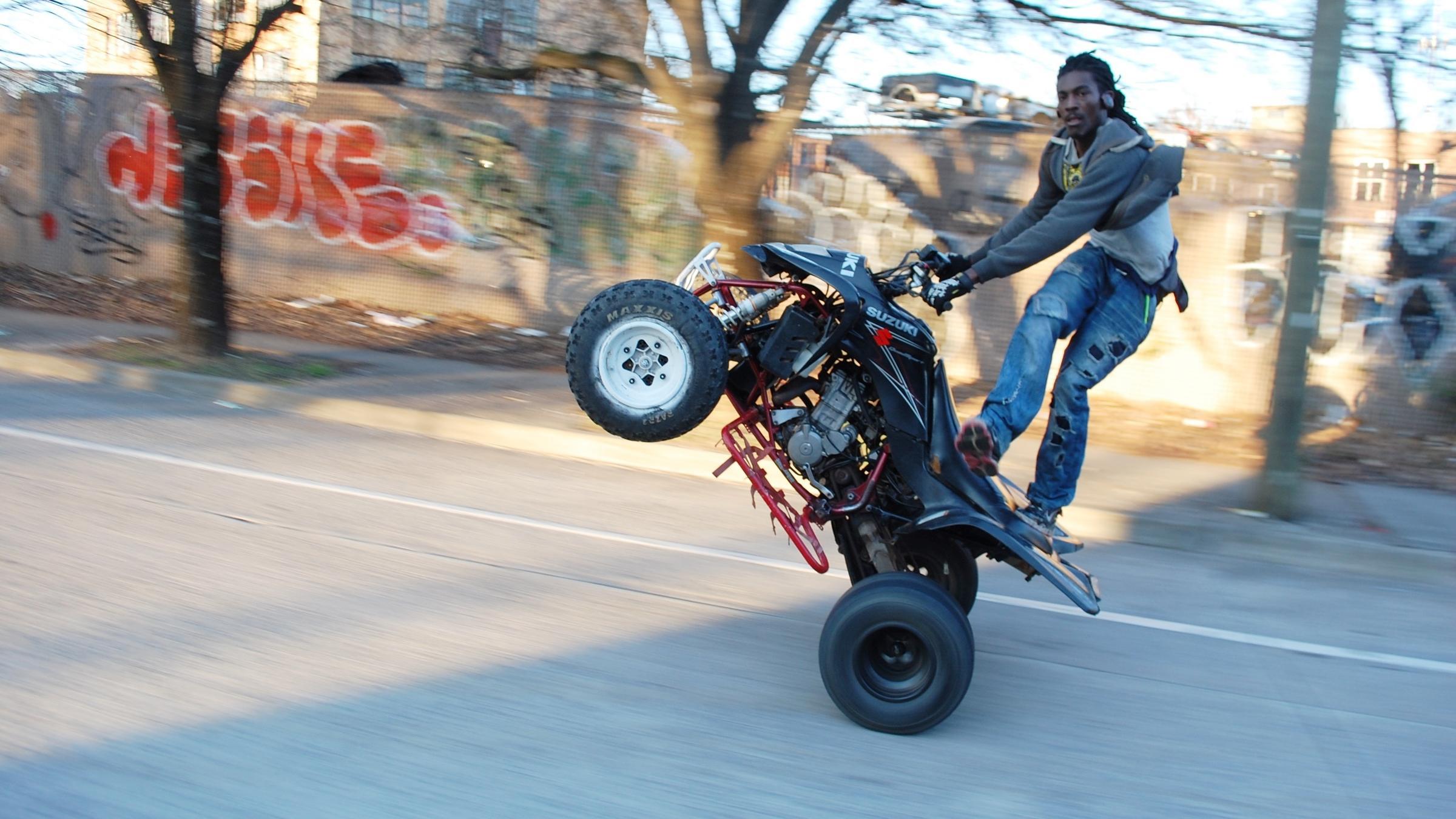 where do you ride a dirt bike when you have no dirt maine public
