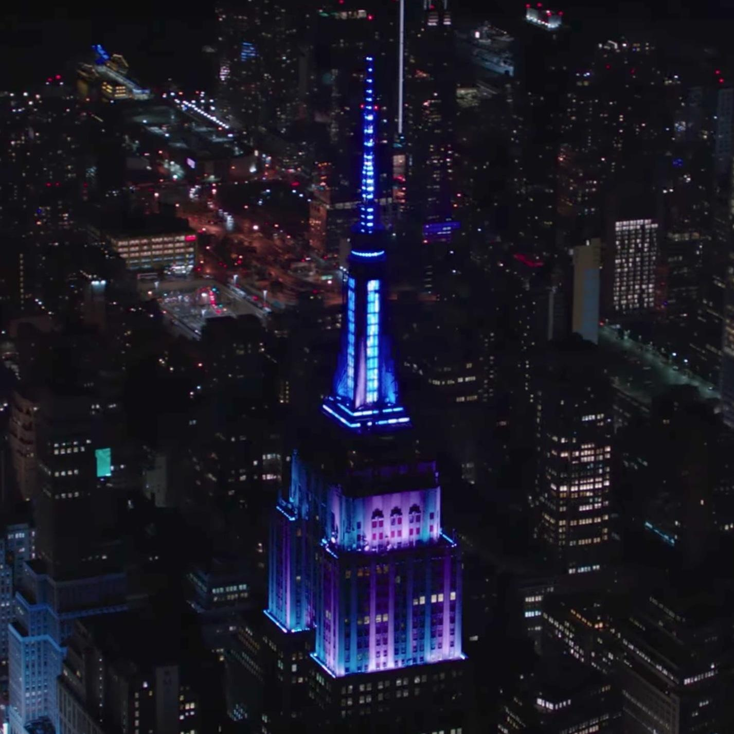 The Empire State Buildingu0027s Lights Were Synced To The Encore Performance Of