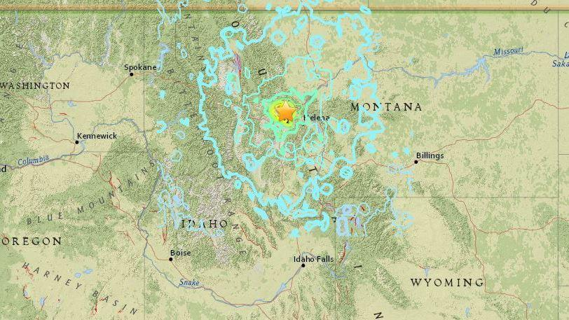 Montana Earthquake Is Felt For Hundreds Of Miles Early Thursday | KOSU