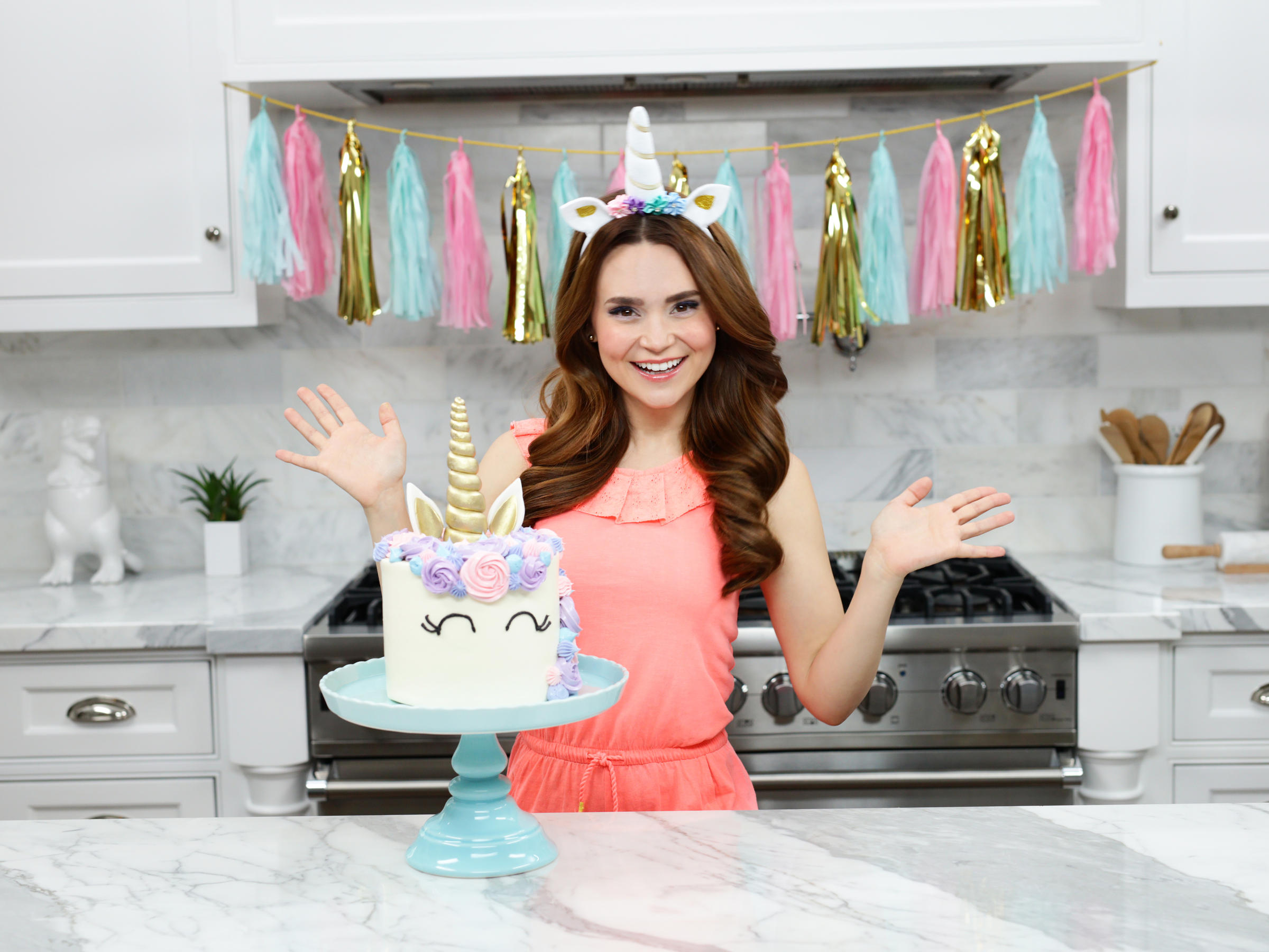 Rosanna pansino is a youtube star and a celebrity chef her youtube cooking show nerdy nummies has millions of subscribers many of whom are children