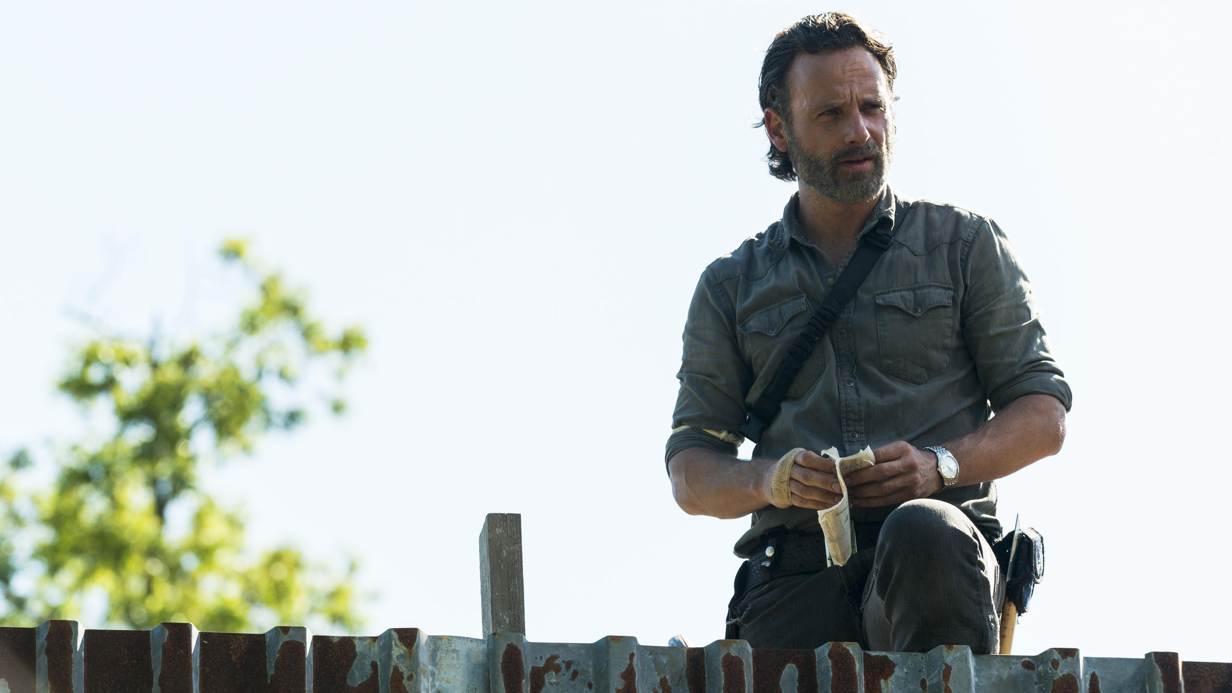 who plays rick grimes in the walking dead