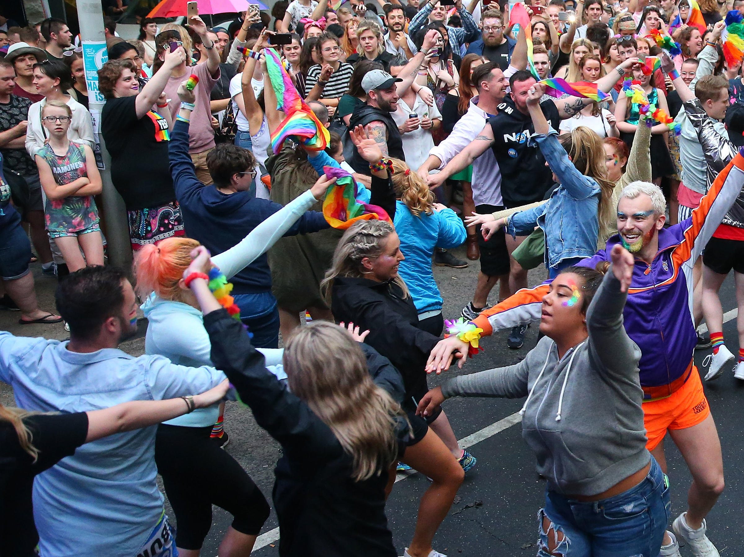Australians Vote Yes On Gay Marriage Wkms