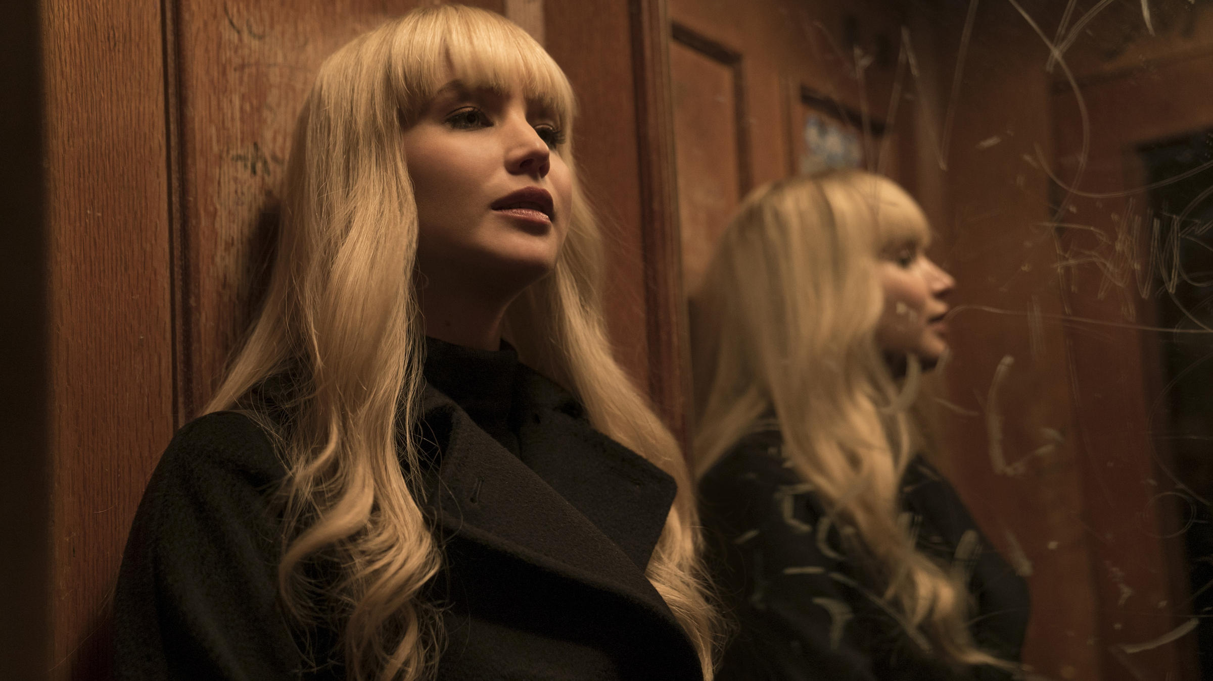 Jennifer Lawrence, Unidentified Red Sparrow - 2019 new photo