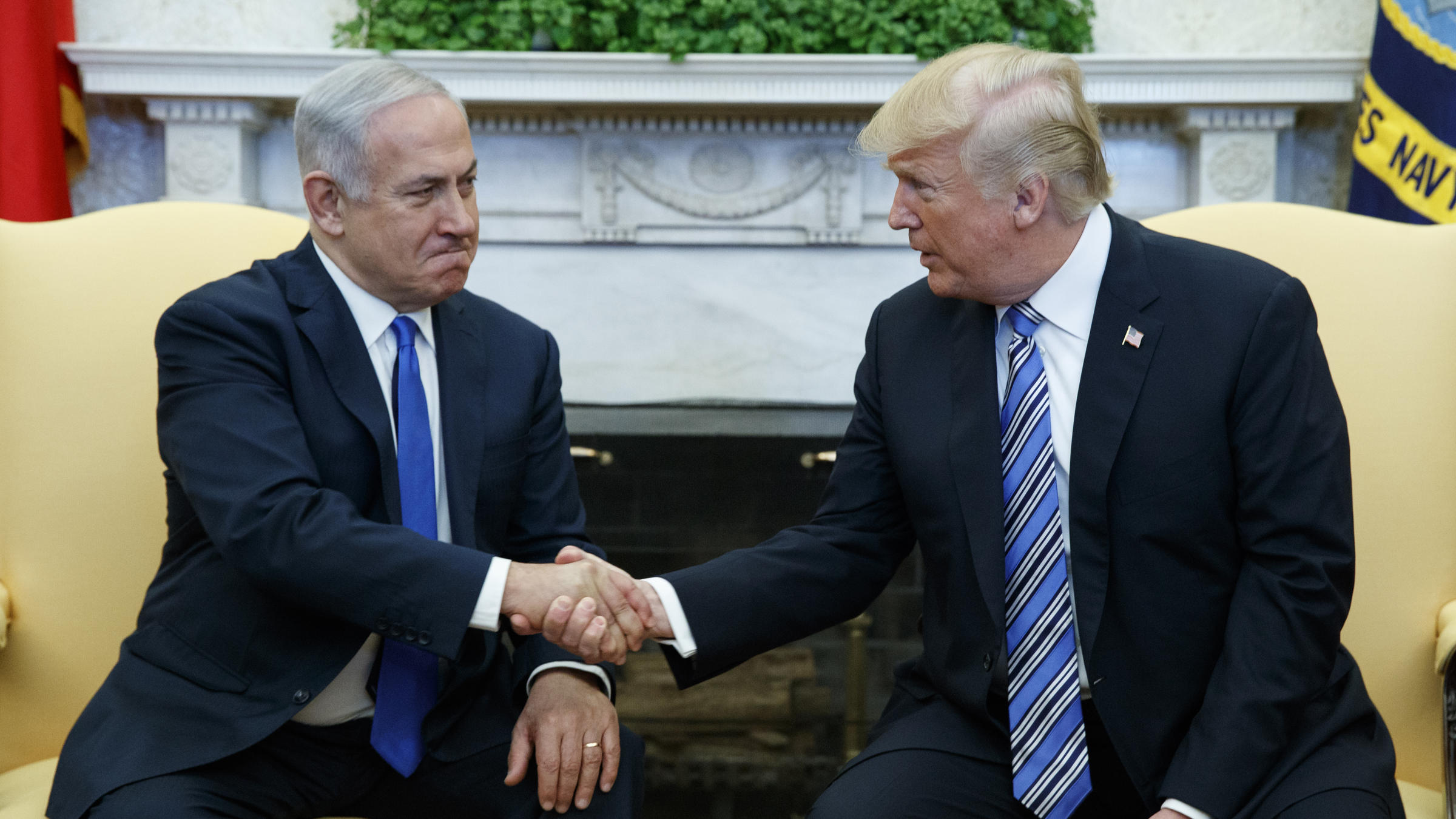 Netanyahu Details His Talk With Trump On Iran And Palestinians Wamc