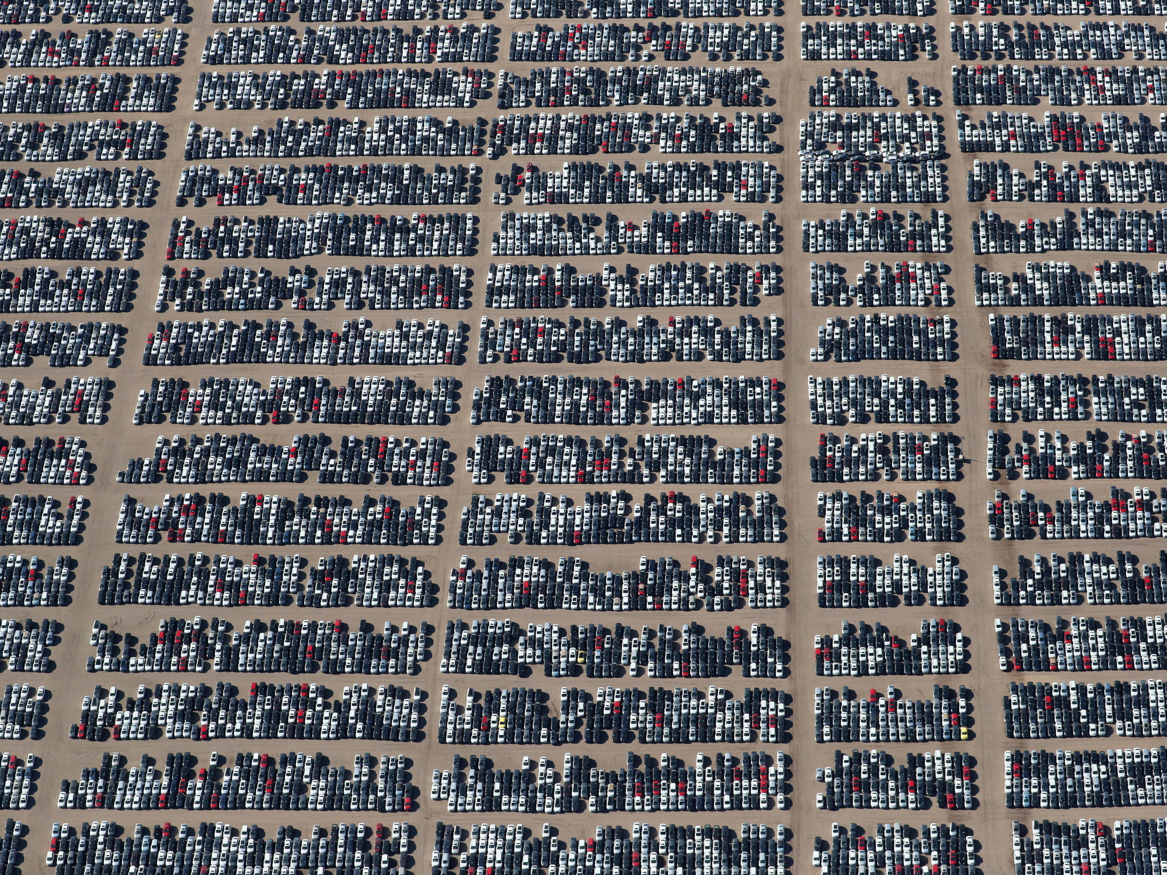 Why 300 000 Volkswagens Are Being Stored In These Massive Auto