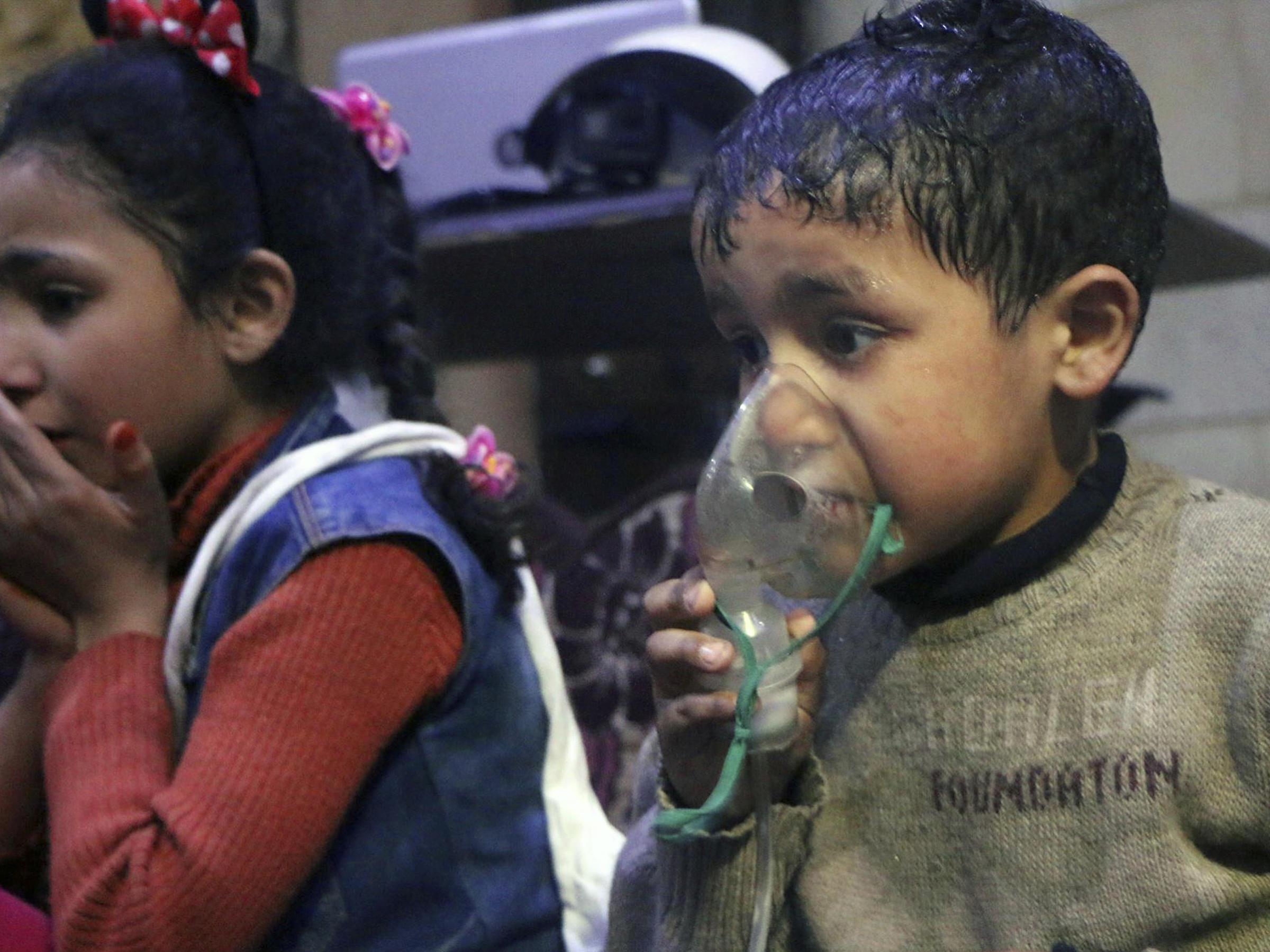 Gas attack in Syria