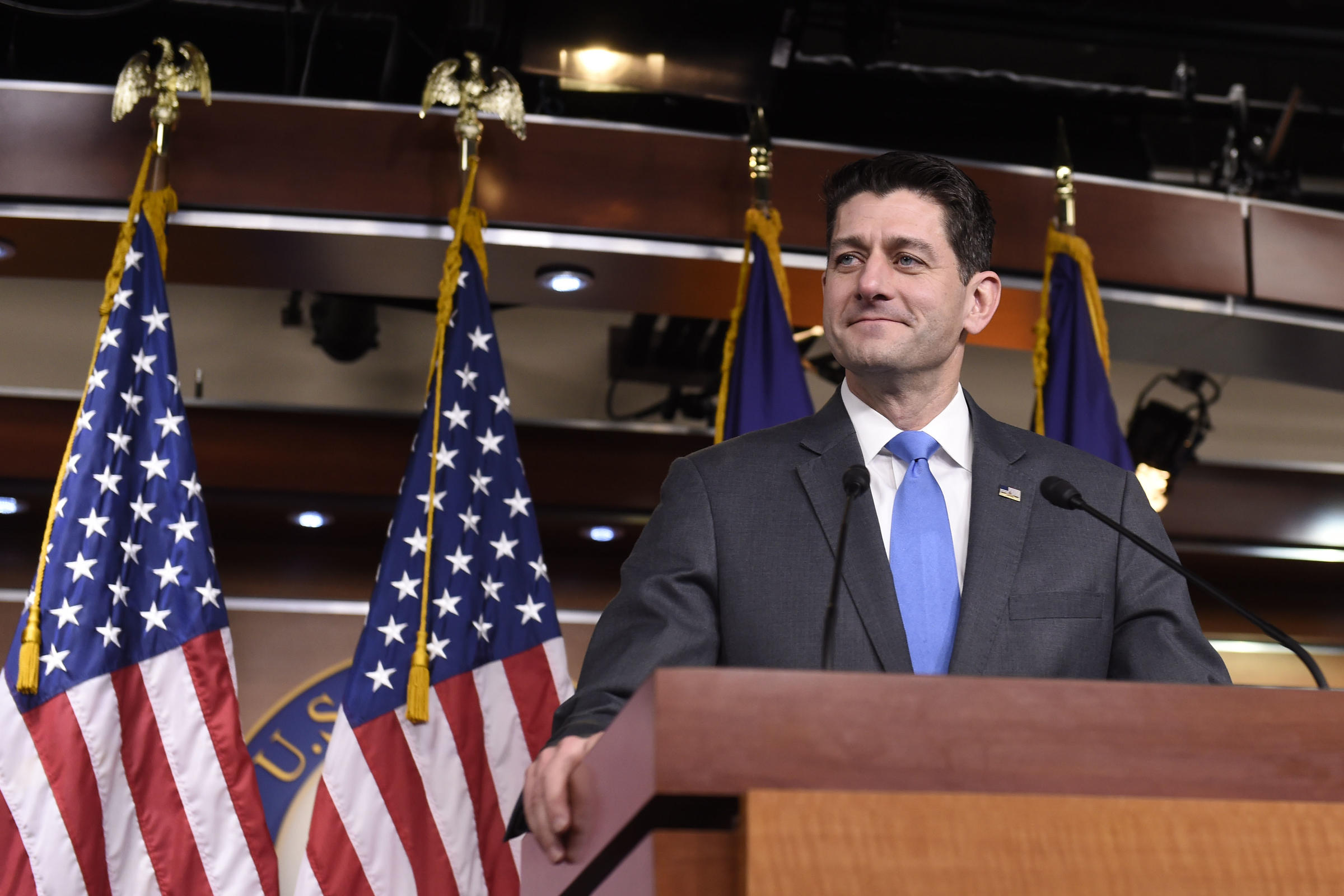 Speaker Of The House Paul Ryan Announces He Will Not Seek Re Election On  Wednesday. Ryan, 48, Cited Wanting To Be Around His Adolescent Children  More Often.