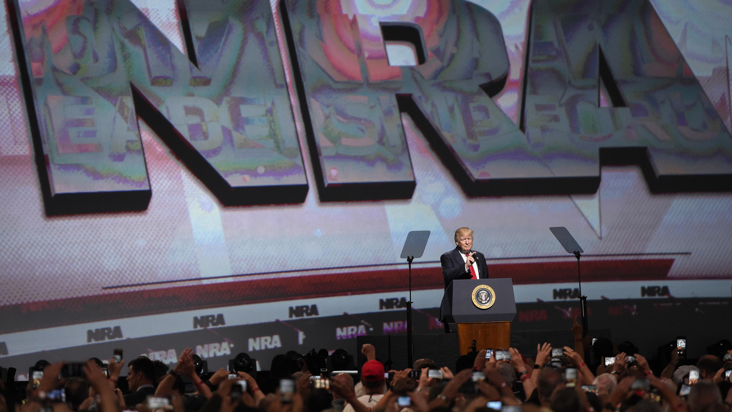 NRA Opens Convention In Dallas