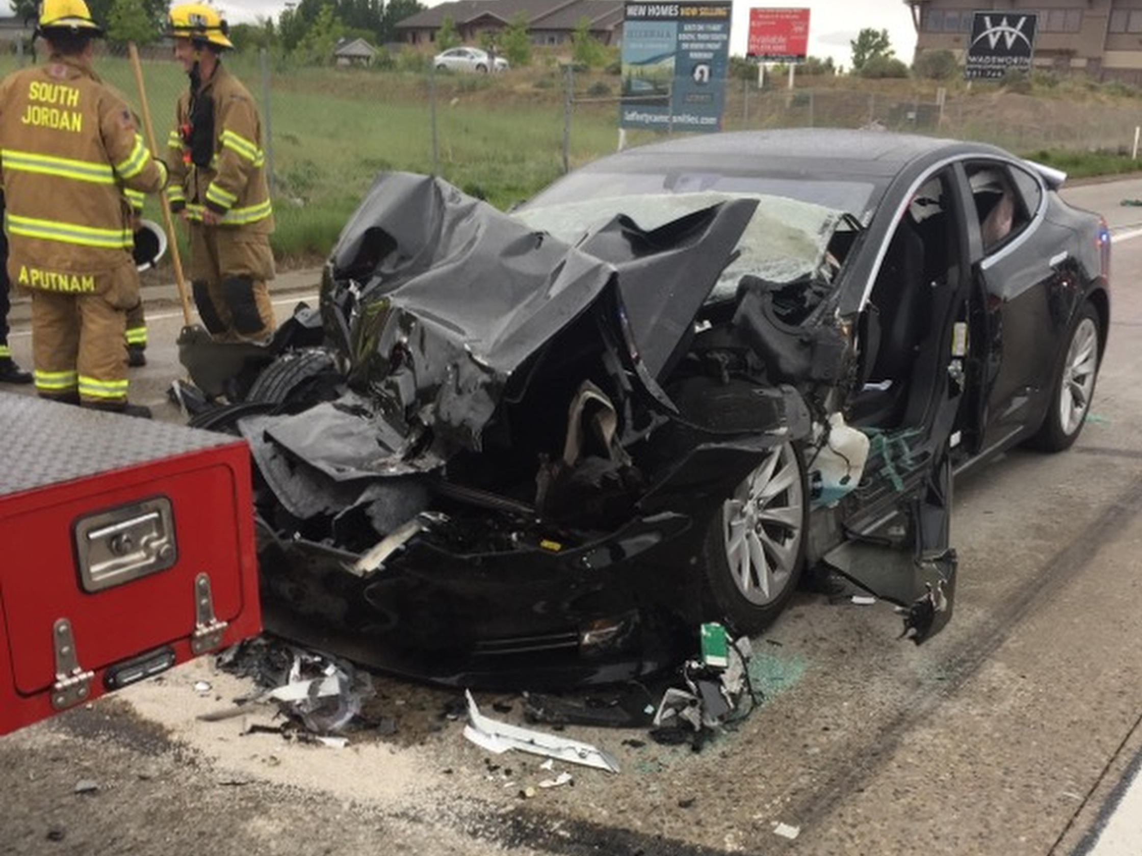 NHTSA Investigates Tesla Crash, As Driver Says Autopilot Was Enabled