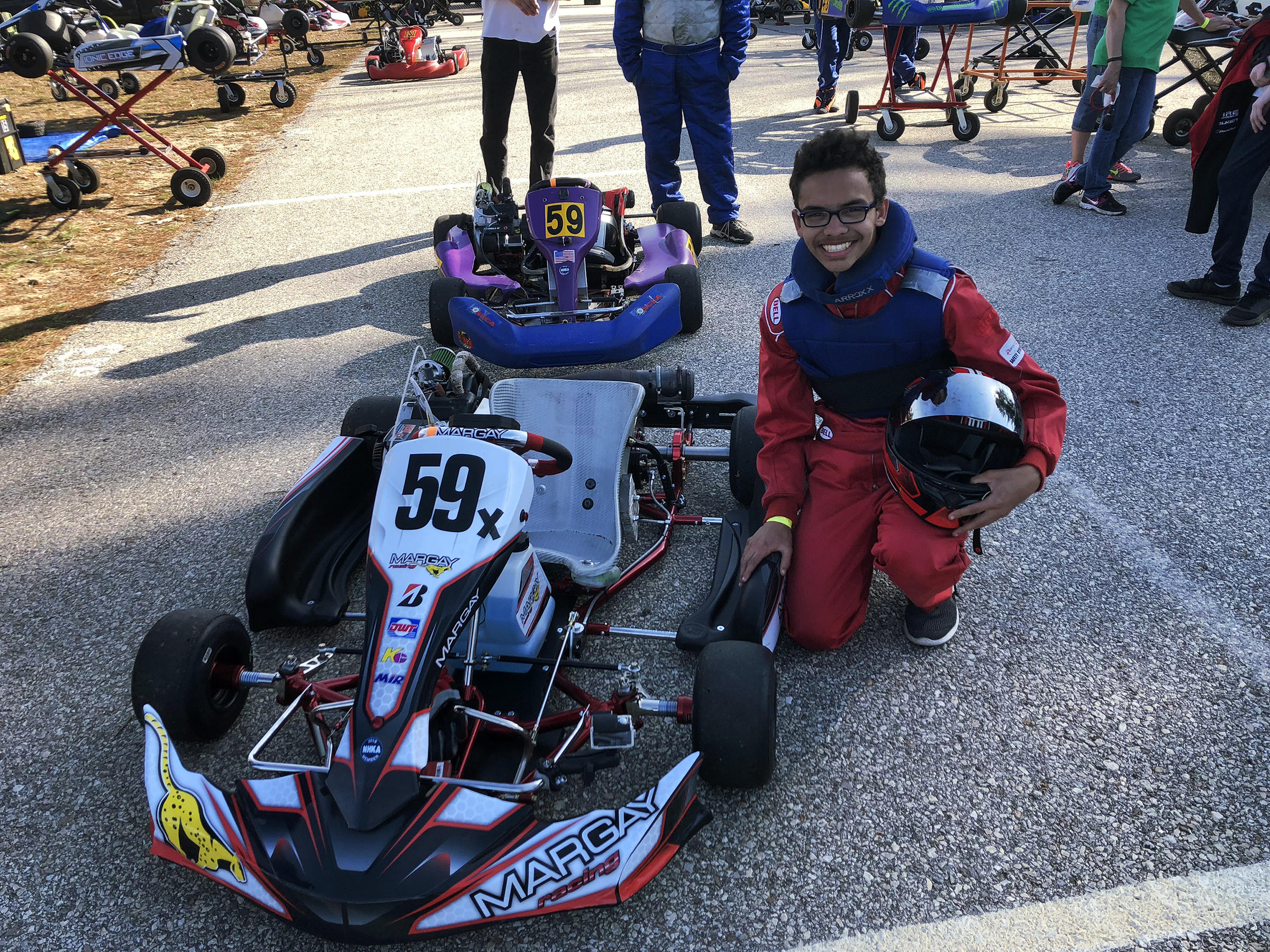 This East Coast Go-Kart Racing Champion Is A 15-Year-Old Phenom ...