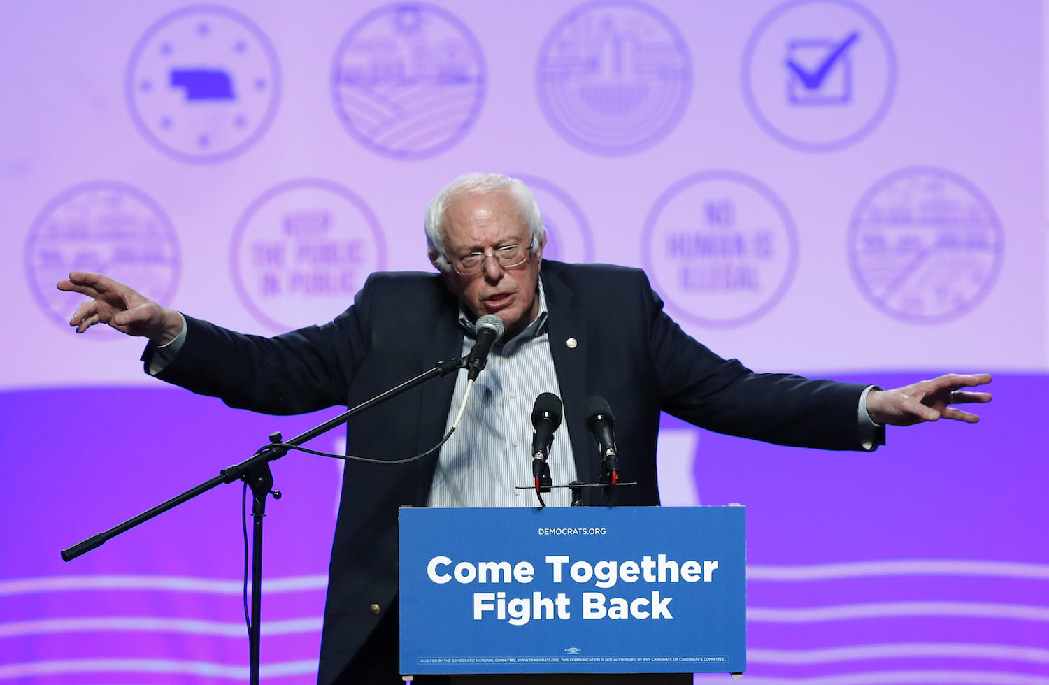 Bernie Sanders announces he's running again