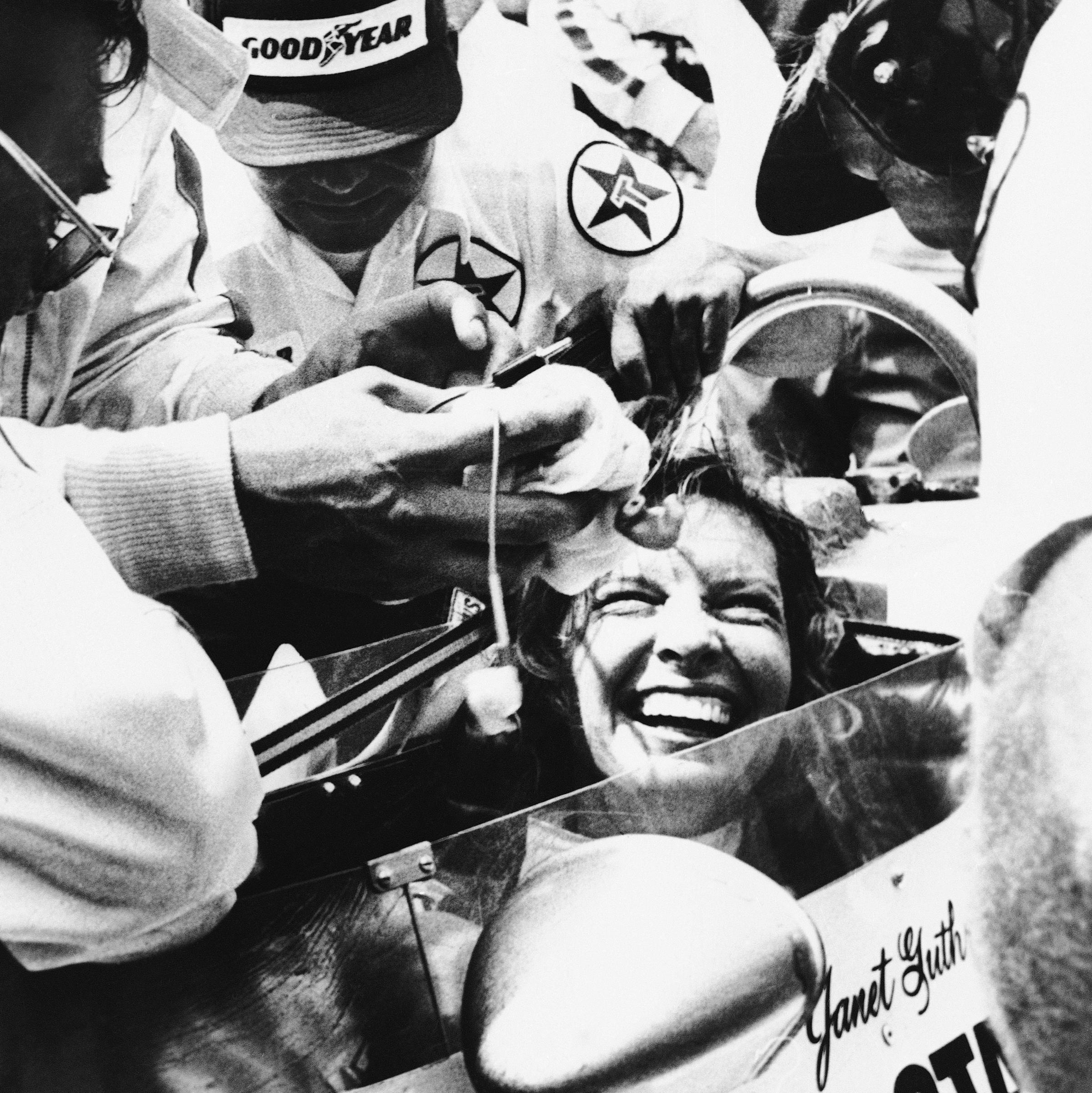 pics Janet Guthrie 11th at Indianapolis 500