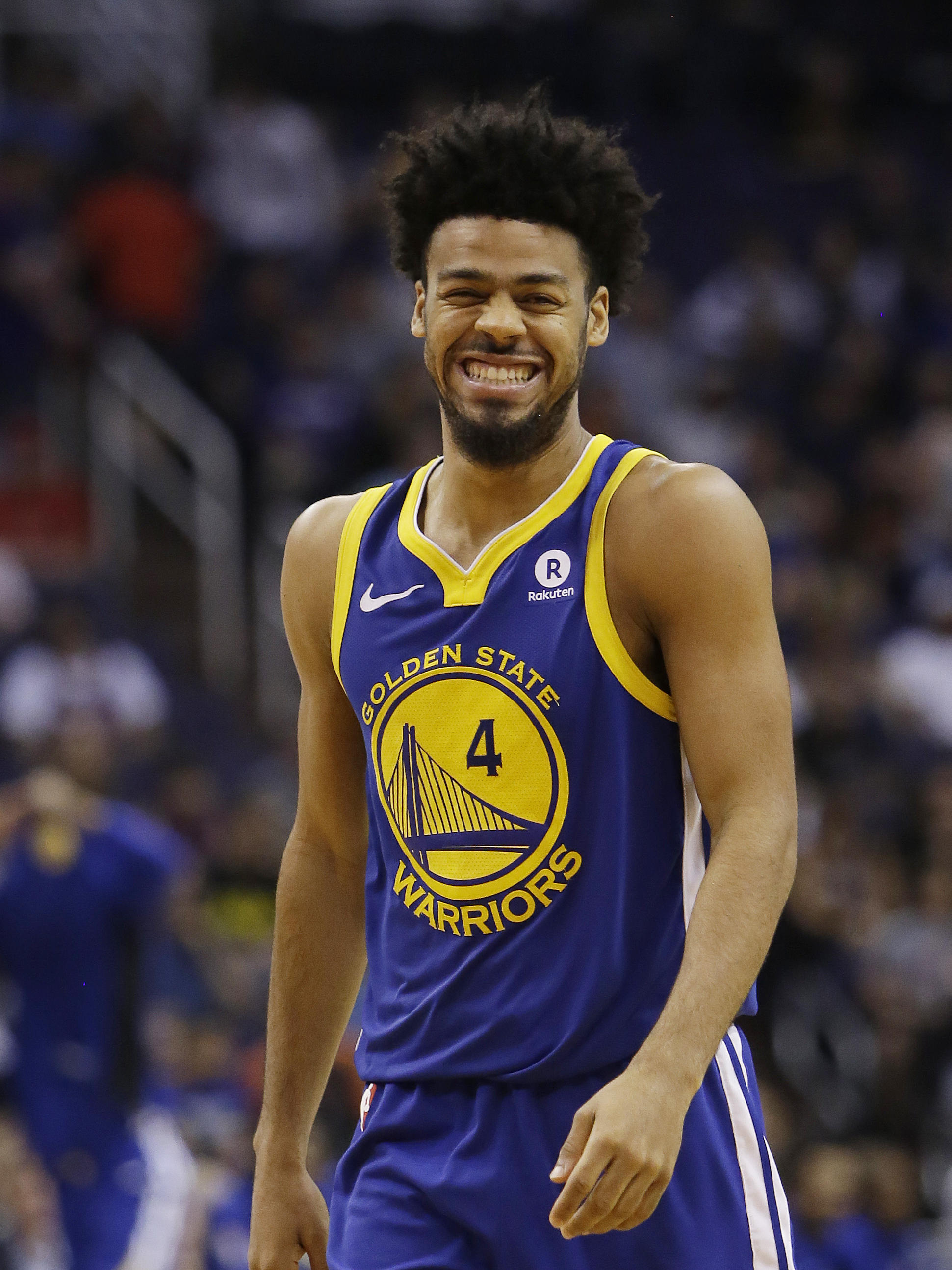 Golden State Warriors guard Quinn Cook in the second half during an NBA  basketball game against the Phoenix Suns on April 8 a3dacefbc
