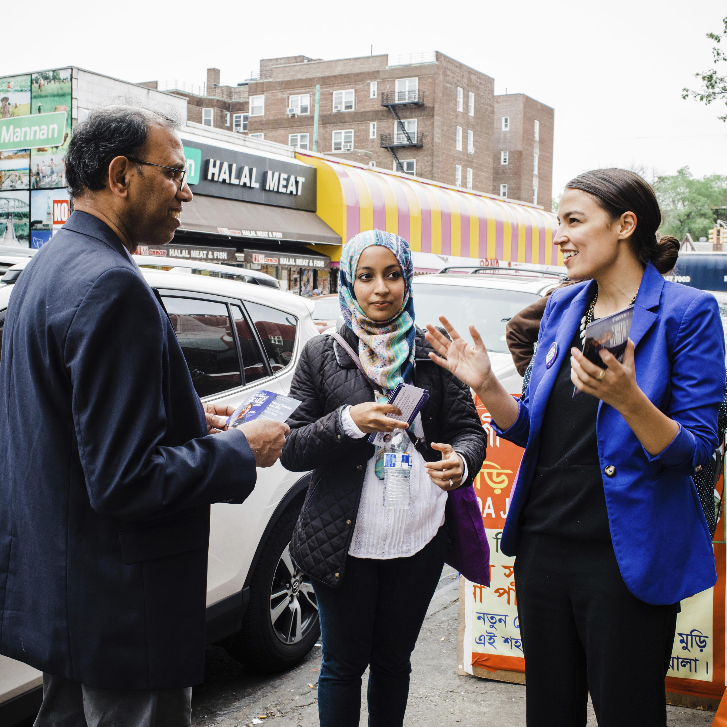 online store d95ce 9e711 A May 2016 photo provided by the Alexandria Ocasio-Cortez campaign shows  the candidate during a Bengali community outreach event in New York.