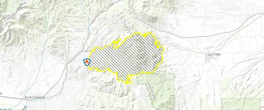 Gardner Colorado Map.Saturday Arson Charges Filed Spring Fire In Southern Colorado More