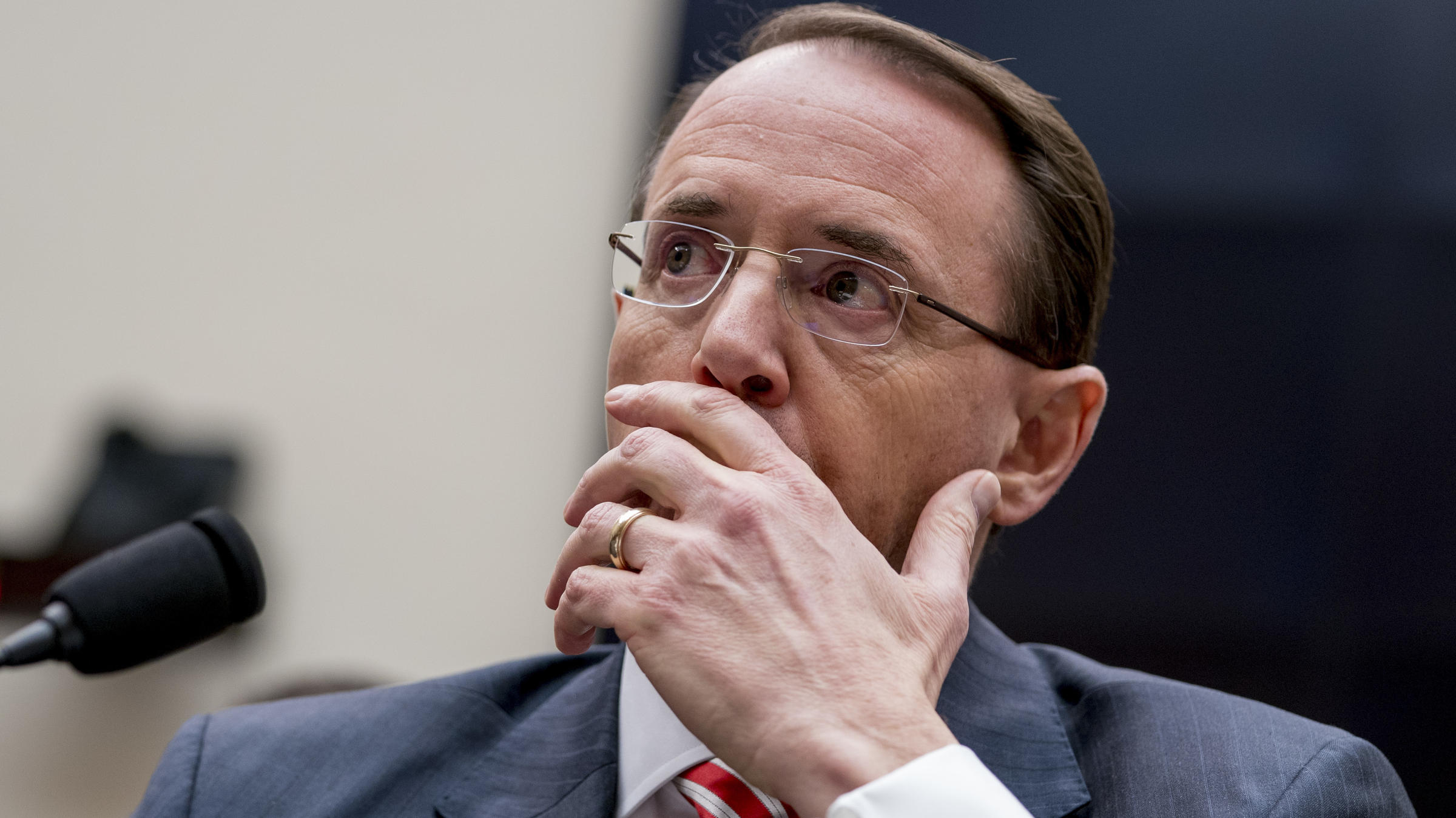 Trump allies move to impeach Rod Rosenstein