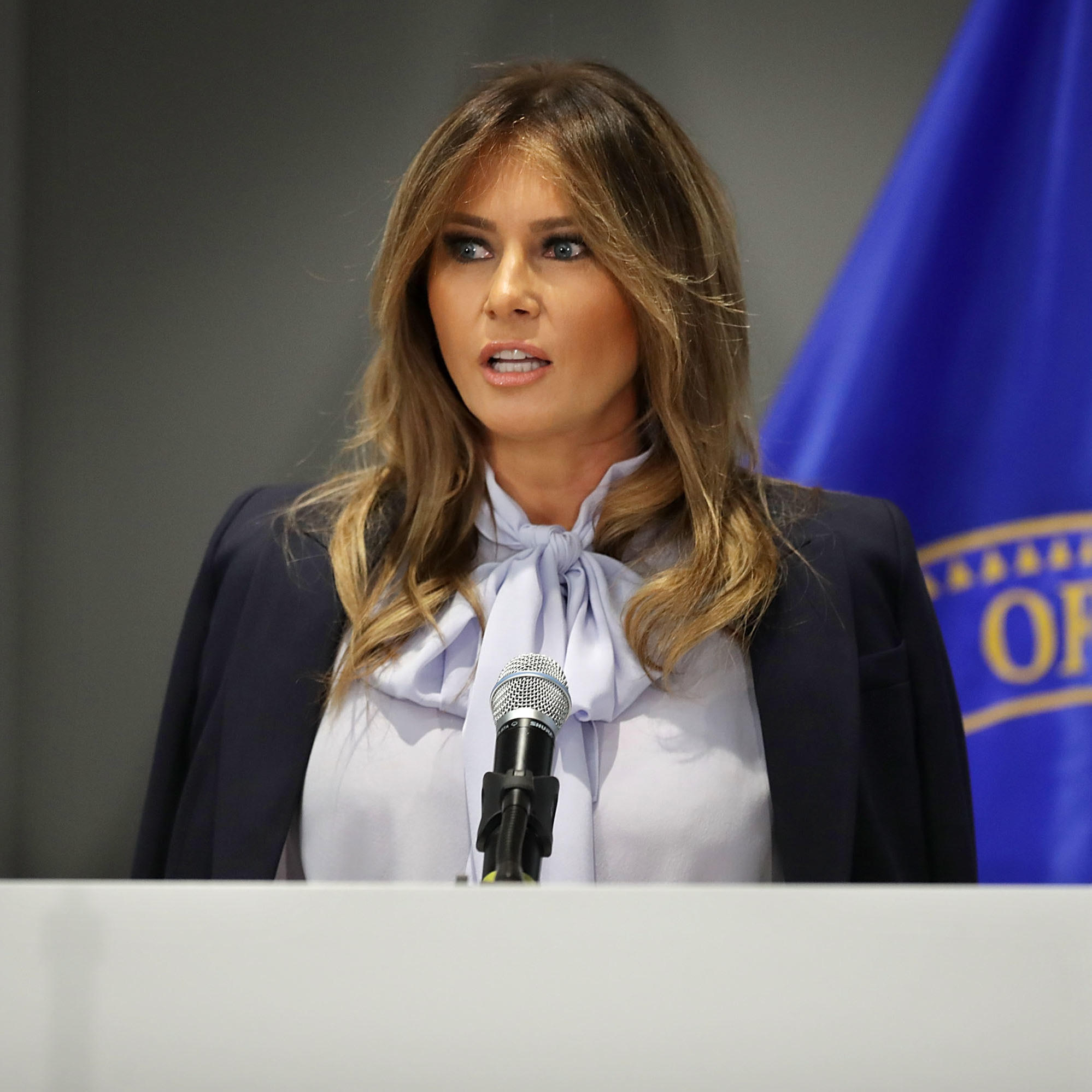 As The President Tweets Attacks, Melania Trump Speaks Out ...