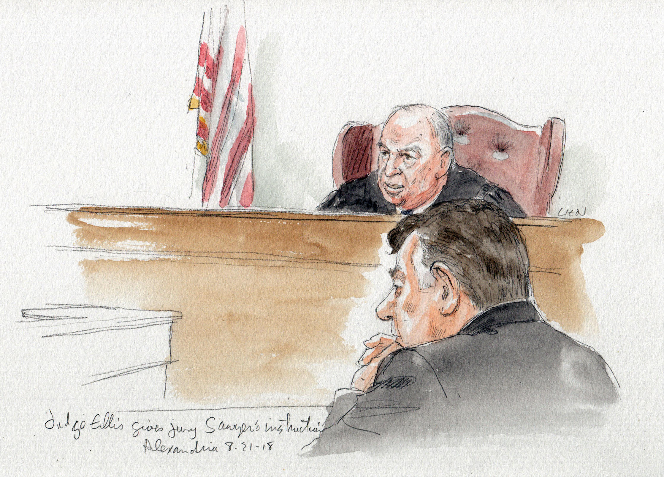 Jury Finds Paul Manafort Guilty In Federal Tax And Bank Fraud Trial