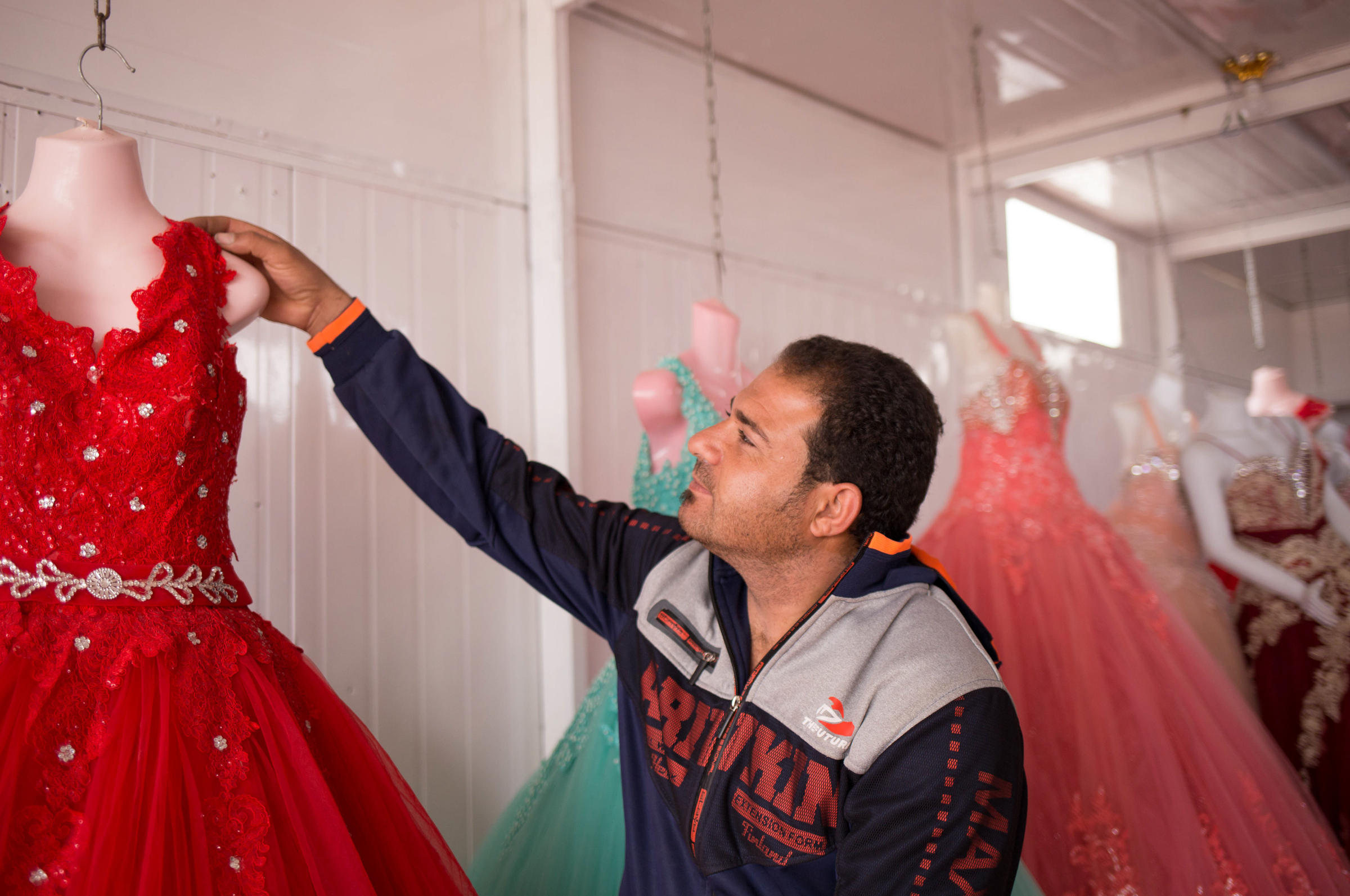 Refugees Say Yes To The Rental Wedding Dress | WYPR