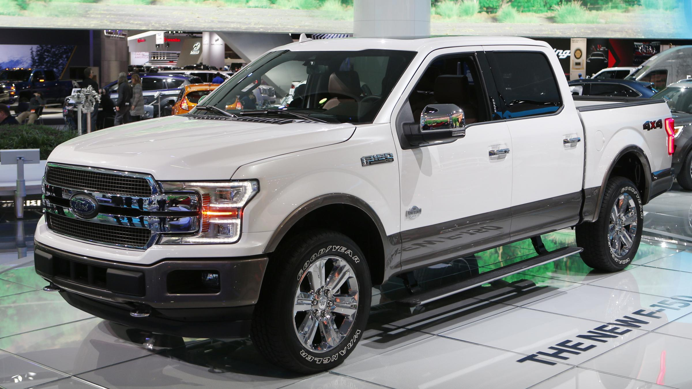 2018 models of the ford f 150 pickup truck are included in a new recall that was triggered by potential problems with the vehicles parking equipment