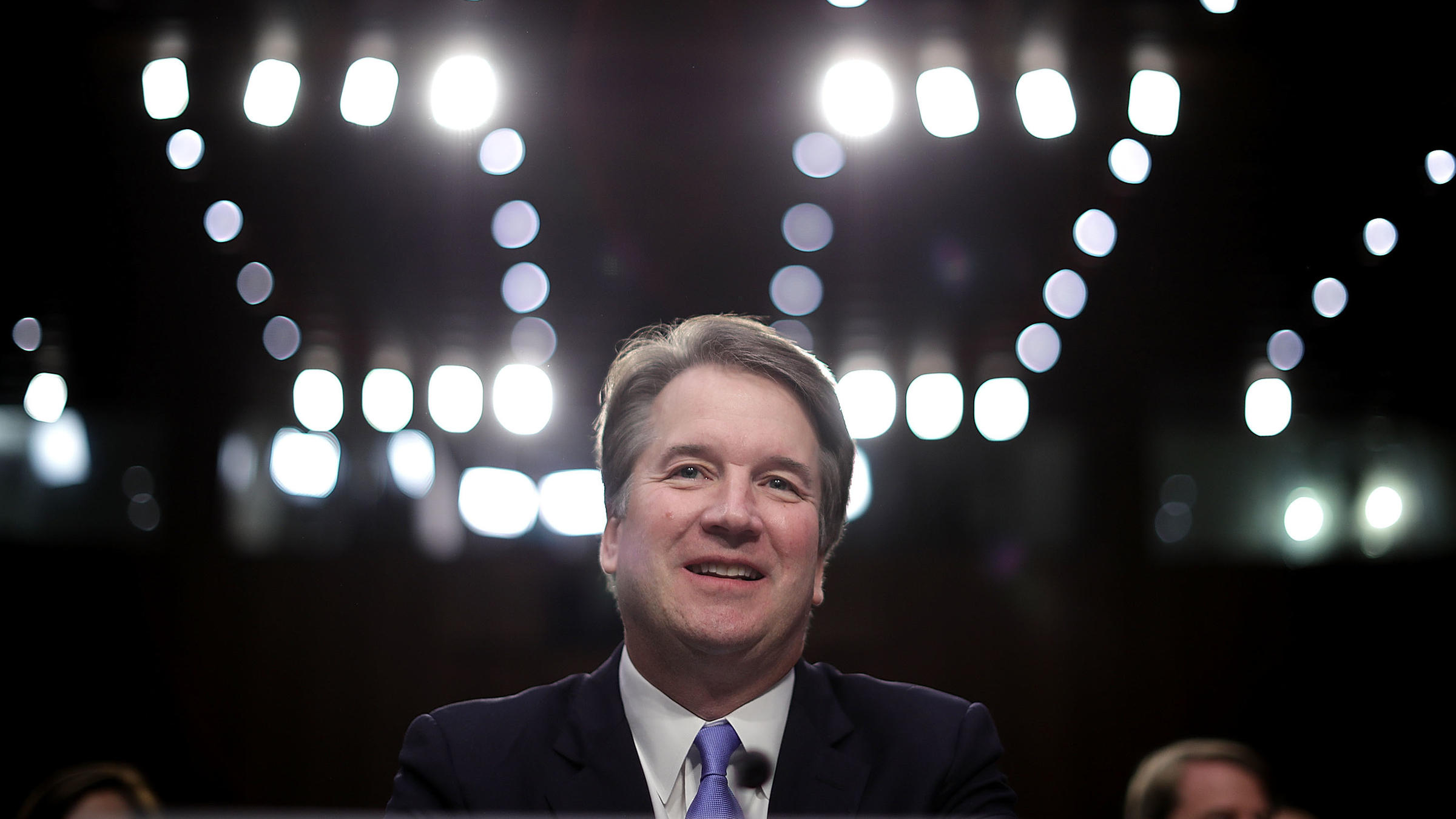 Supreme Court nominee Judge Brett Kavanaugh prepares to testify before the Senate Judiciary Committee Thursday on the third day of his Supreme Court confirmation hearing on Capitol Hill