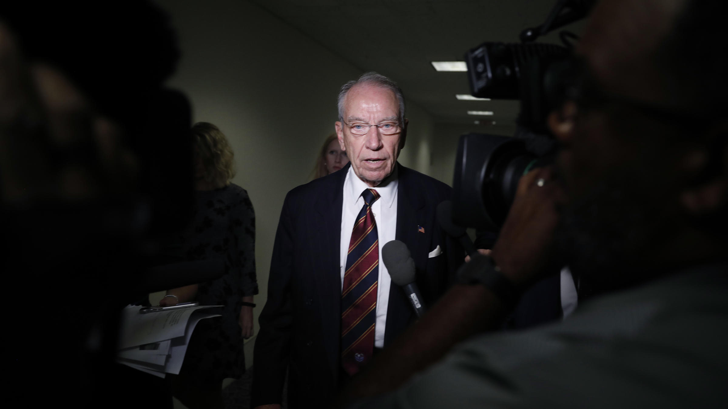Senate Judiciary Chairman Chuck Grassley R-Iowa has requested a response from Christine Blasey Ford about whether she will testify before the committee
