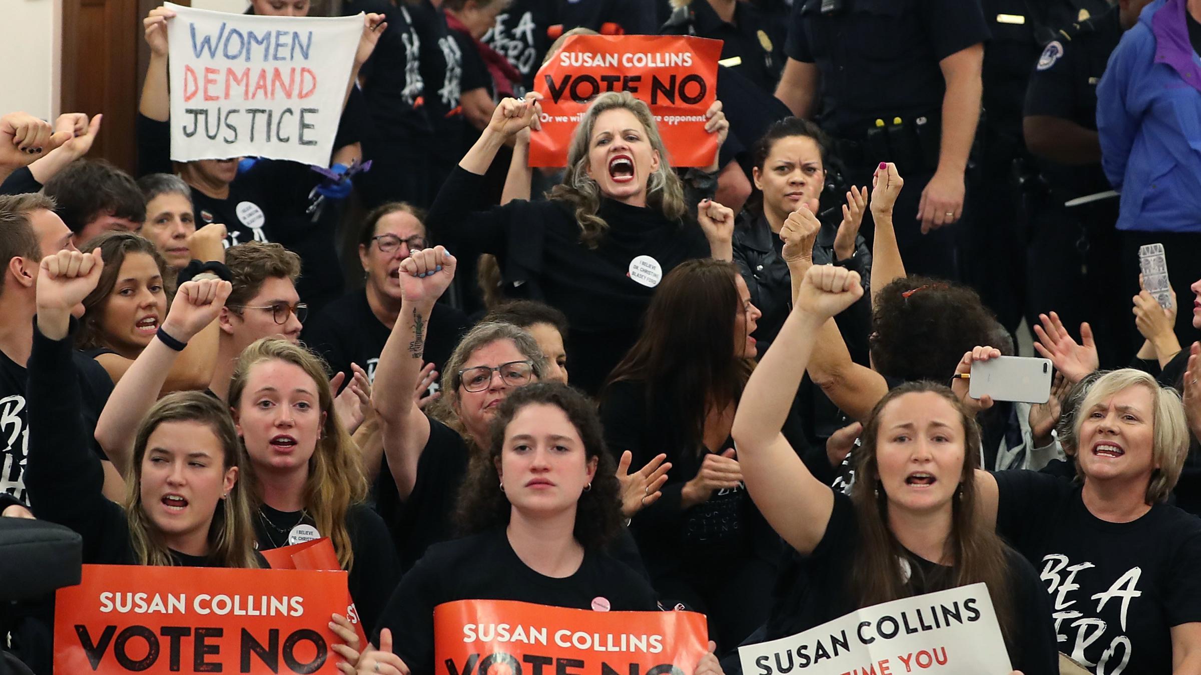 Trump's Supreme Court nominee Kavanaugh rejects 'false accusations'