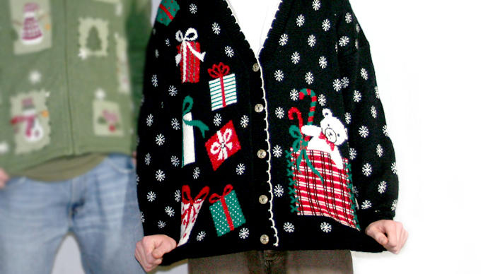 Its Ugly Christmas Sweater Season Share Your Best Bad Attire