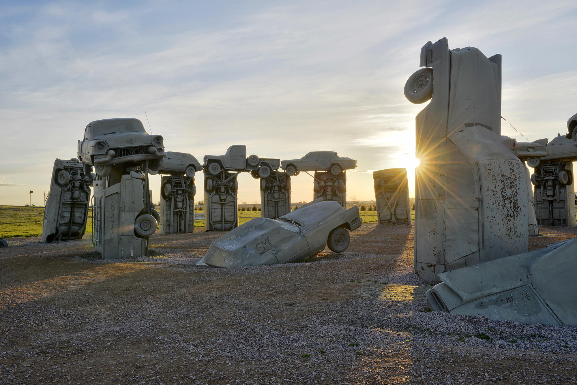 Carhenge Lies In The Path Of Totality For Aug 21 Eclipse