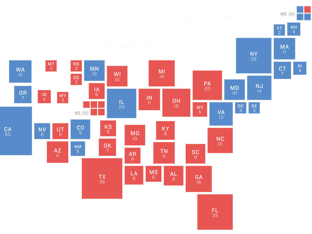 What 2018 Elections Could Tell Us About The 2020 Presidential Map ...