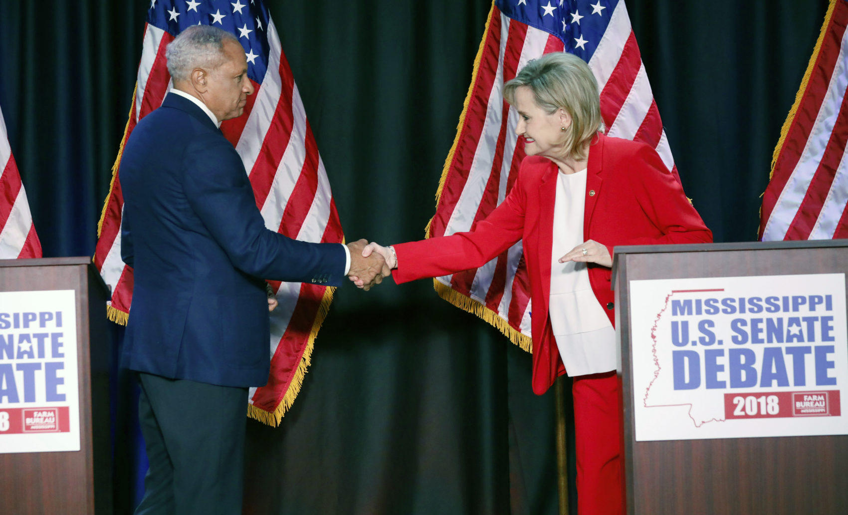 Donald Trump throws his weight behind race-row senator Cindy Hyde-Smith