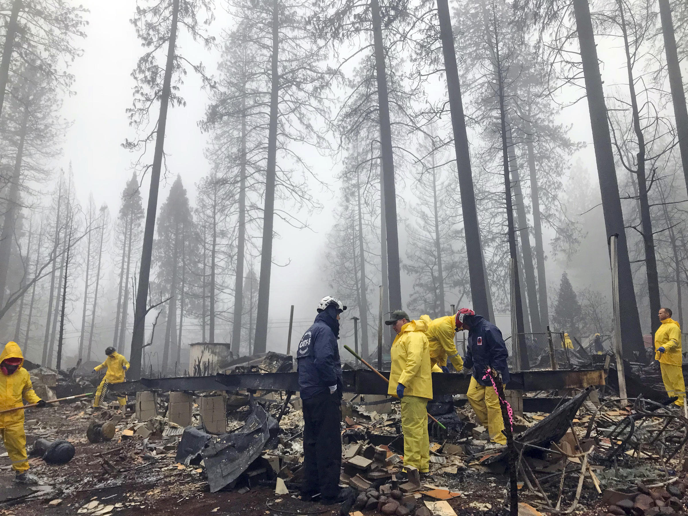 Camp fire fully contained