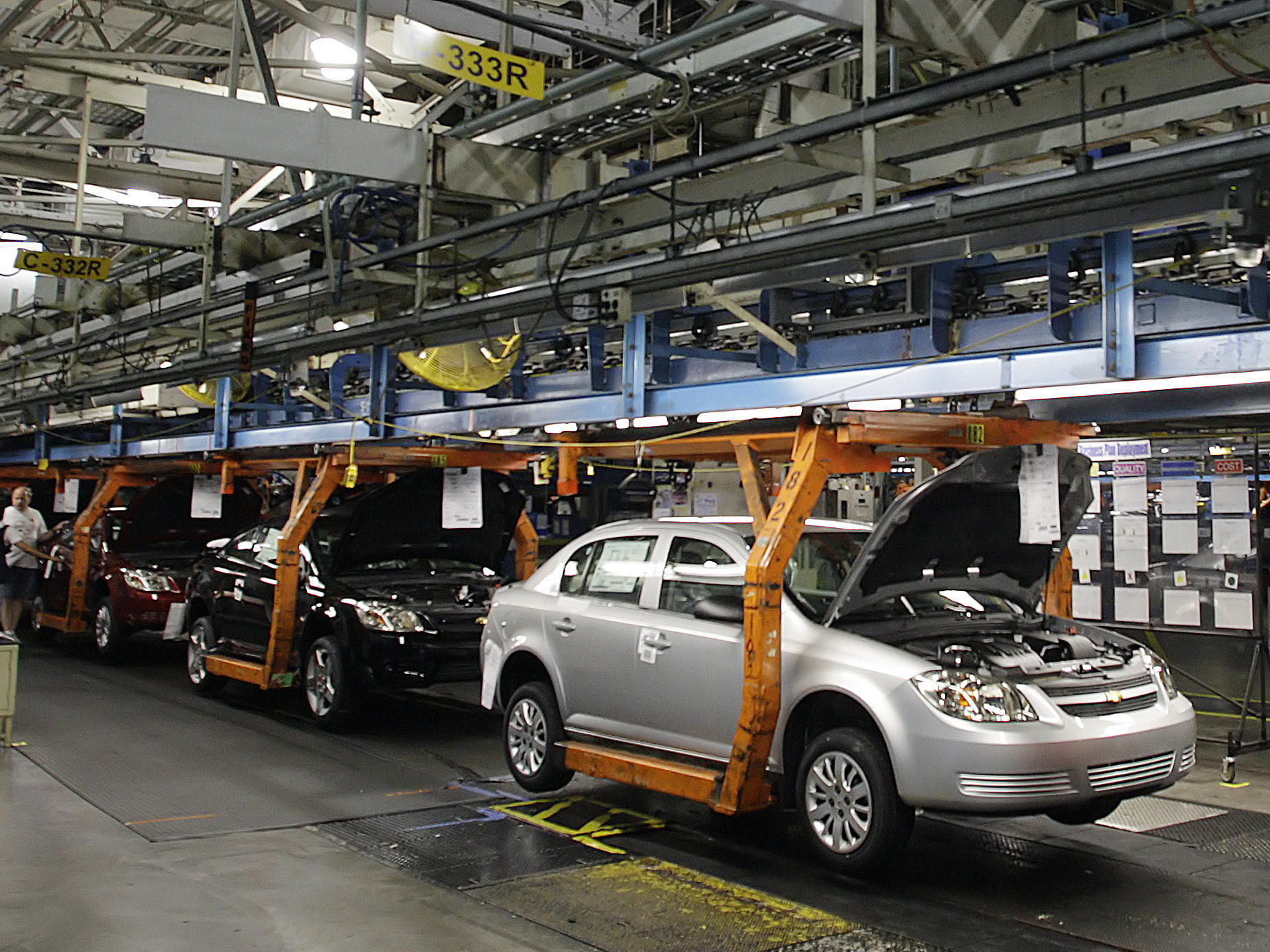 gm announces cuts at car assembly plants in michigan ohio canada