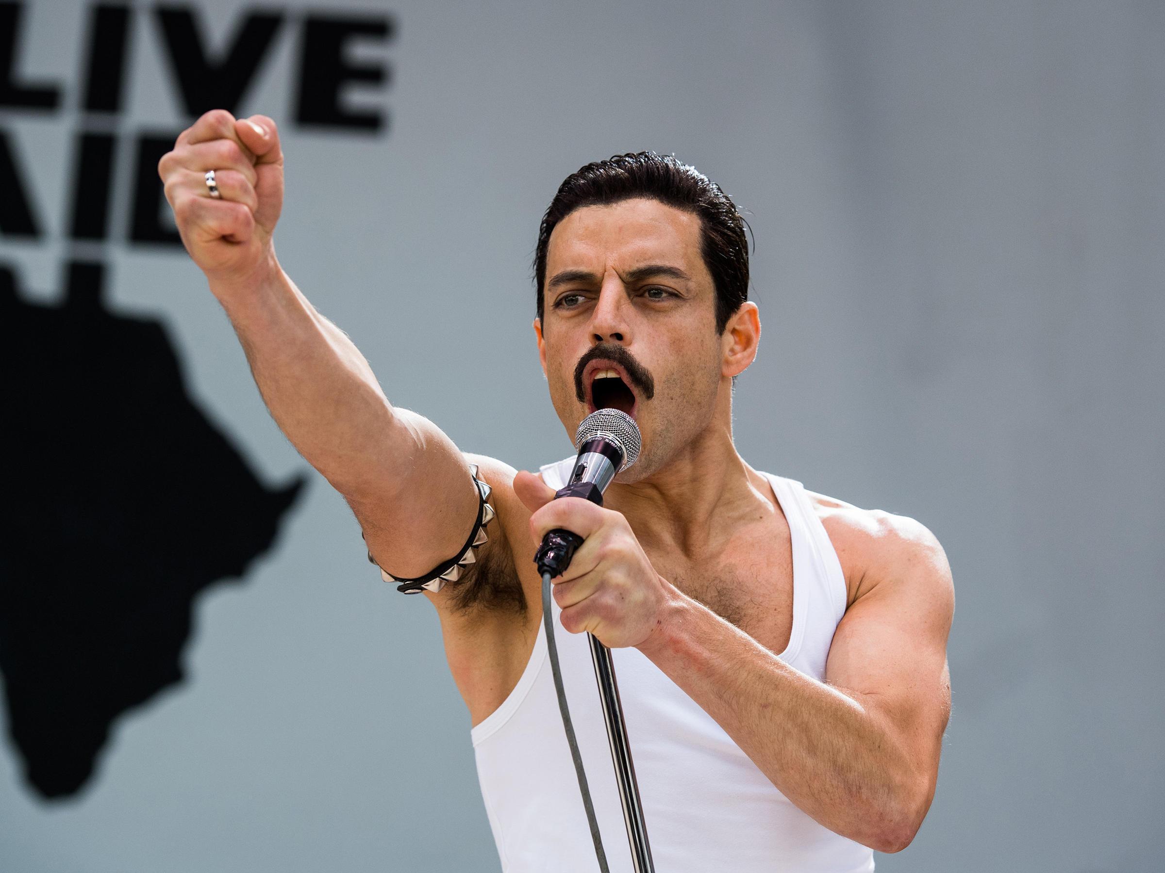 "Image result for Rami Malek, "" Bohemian Rhapsody """