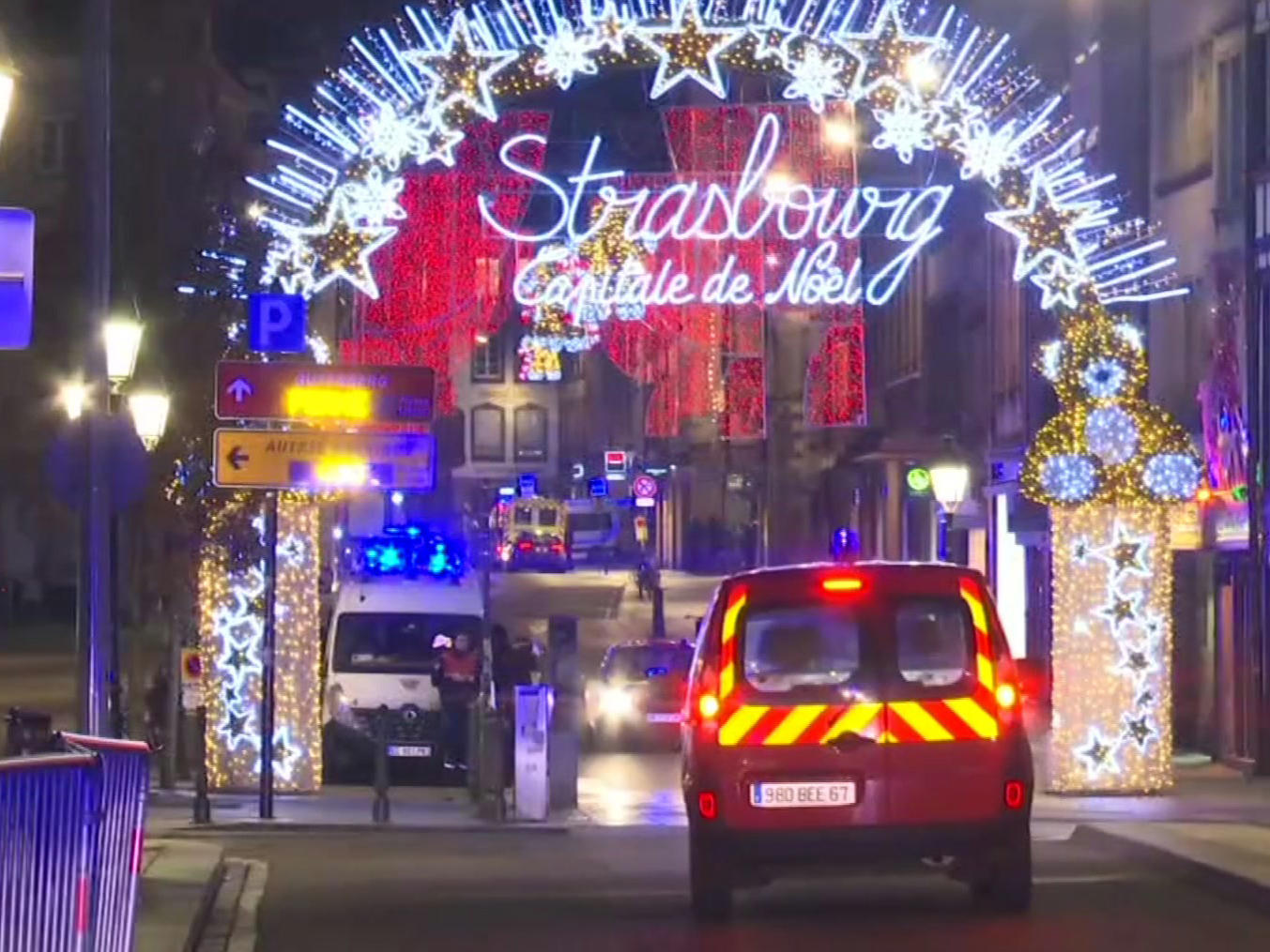 Gunshots near Strasbourg Christmas market leave one dead - fire department