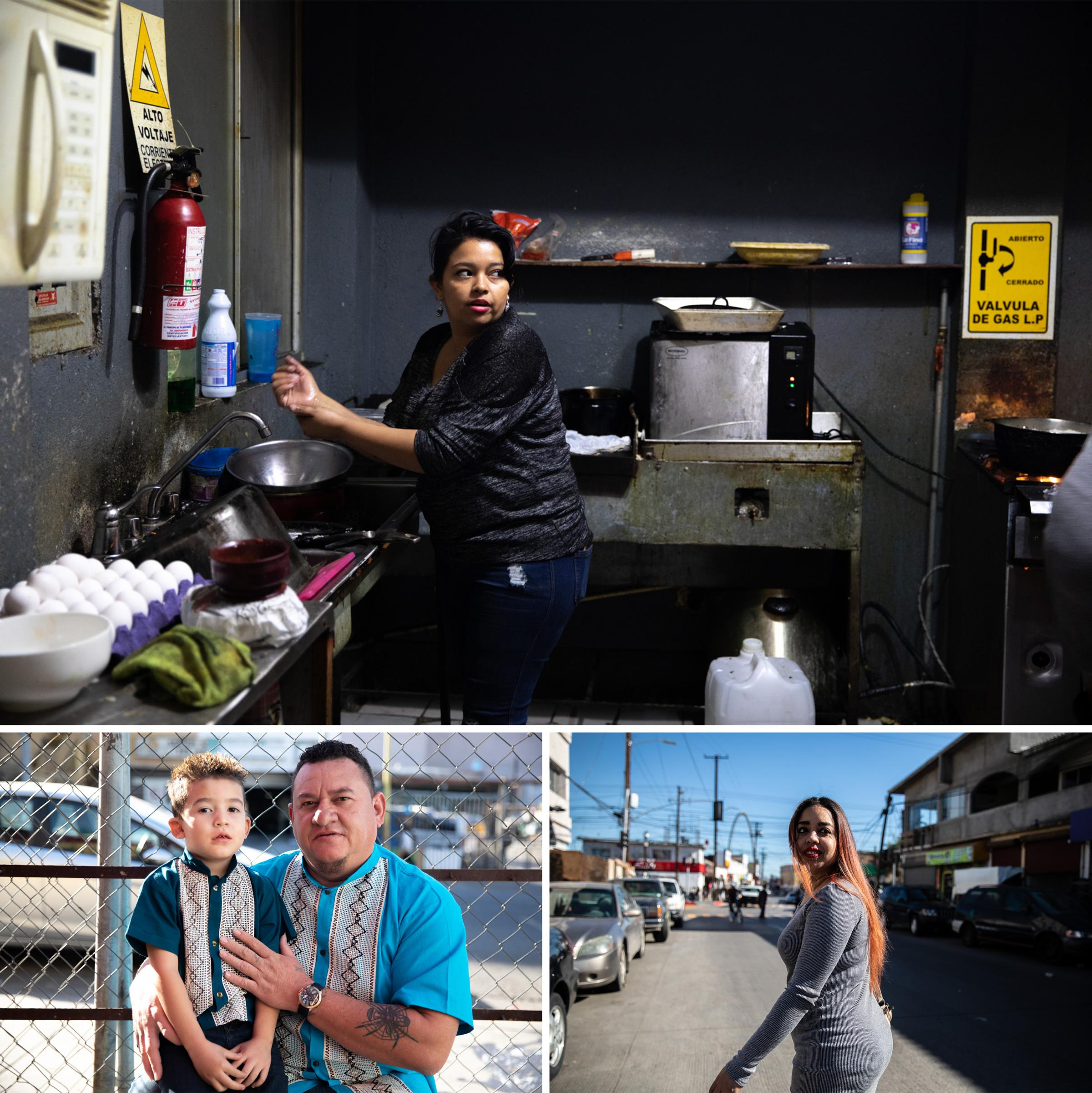She was the last of her family to reach Tijuana after they all left the  crisis-stricken Honduran city of San Pedro ...