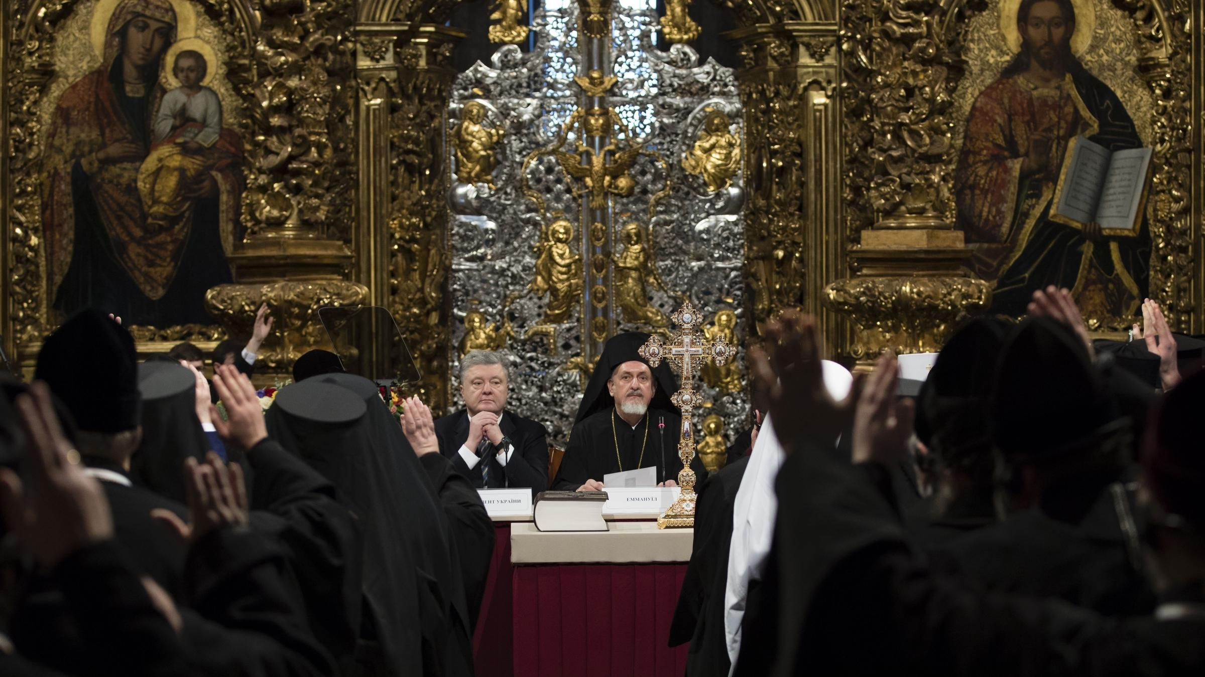 Ukraine creates new Orthodox church independent from Russian Federation