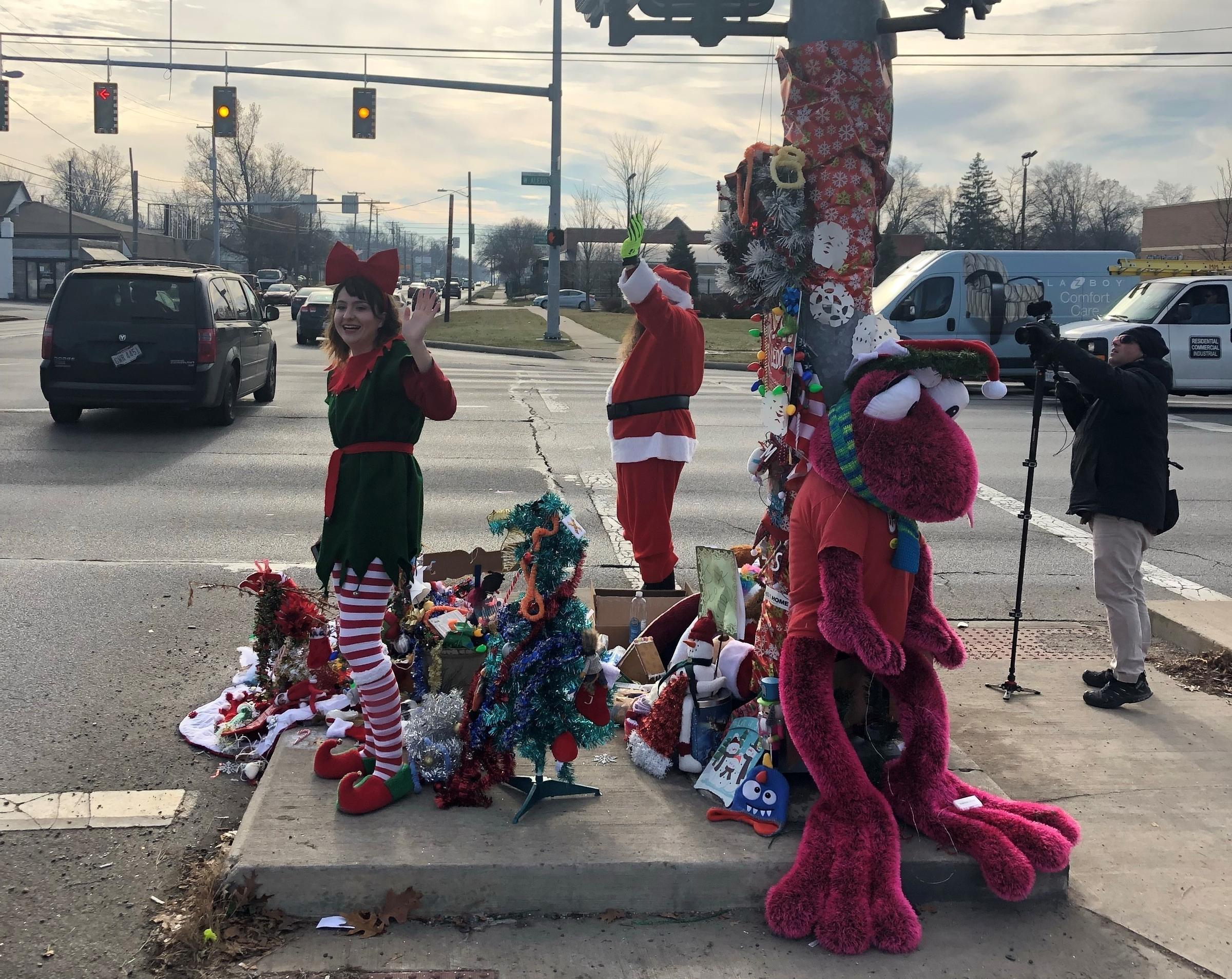 A Weed Grows In Toledo And Residents Hang Their Christmas Hopes
