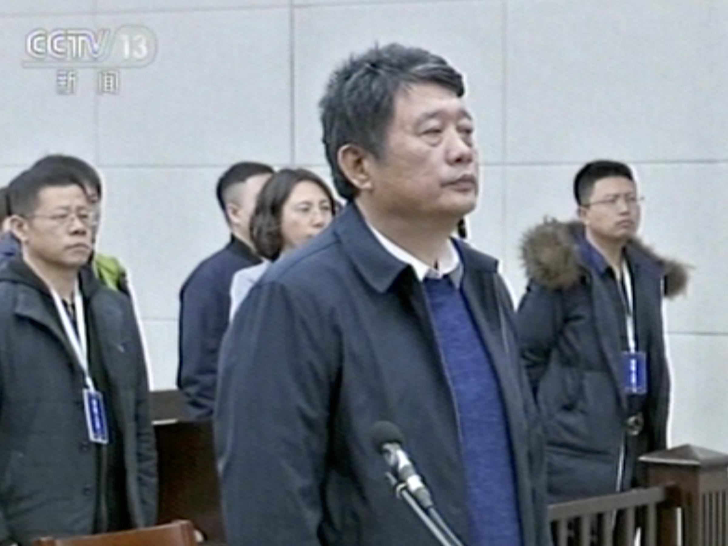 Former Chinese spymaster jailed for life over graft