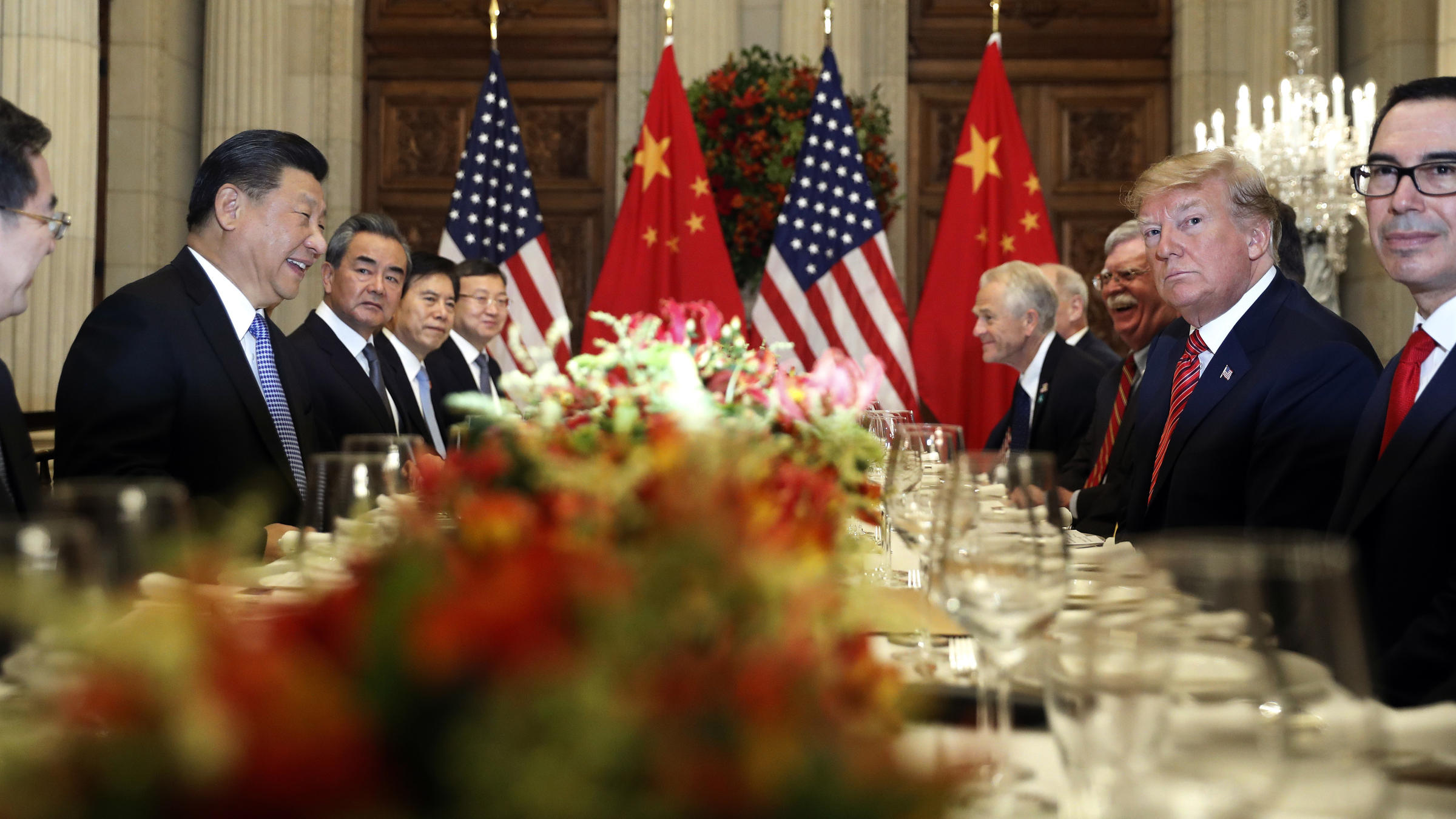 Trump Says 'Big Progress' Made in Trade Talks With China