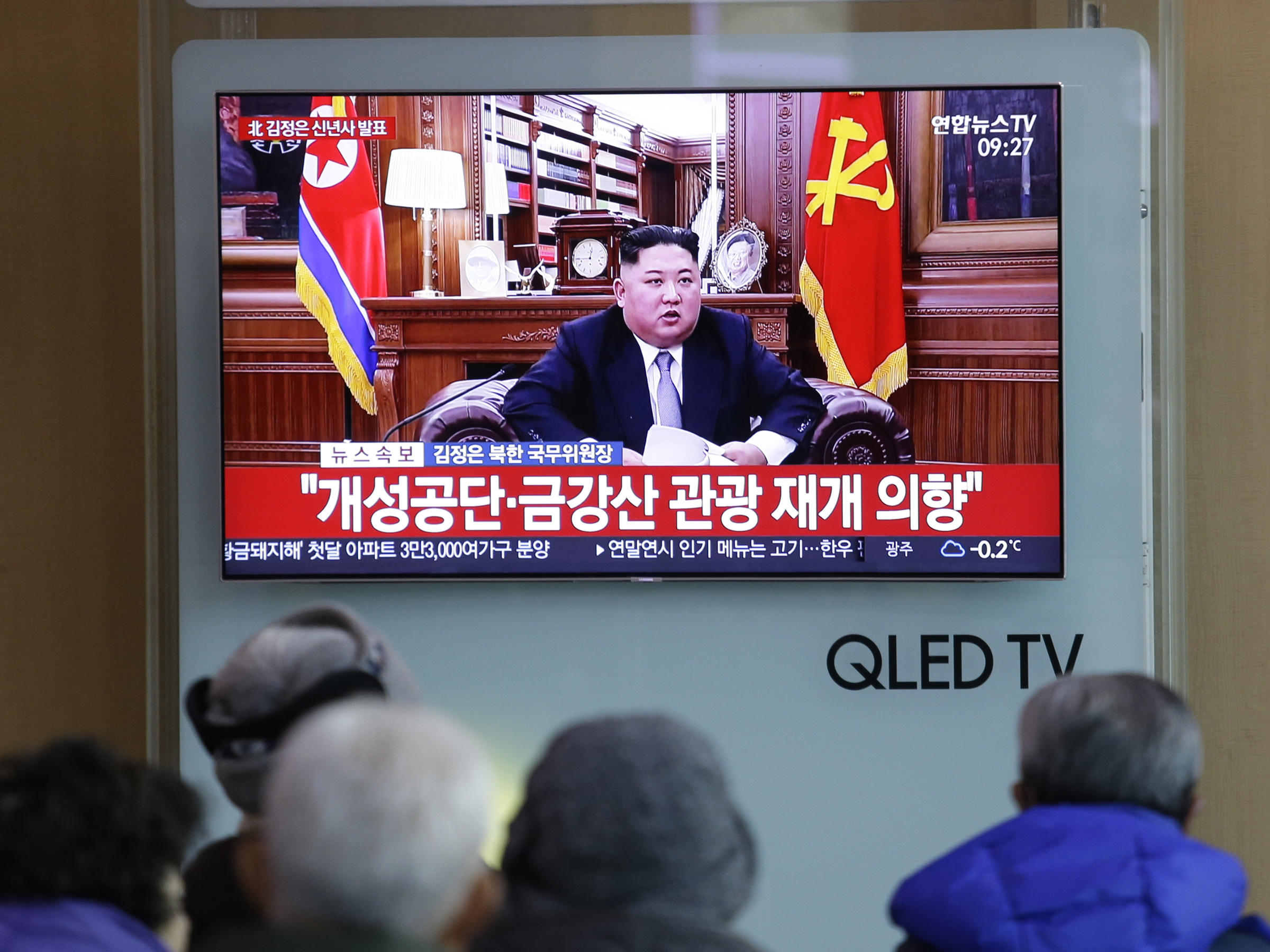 North Korea could consider change of tack, Kim warns