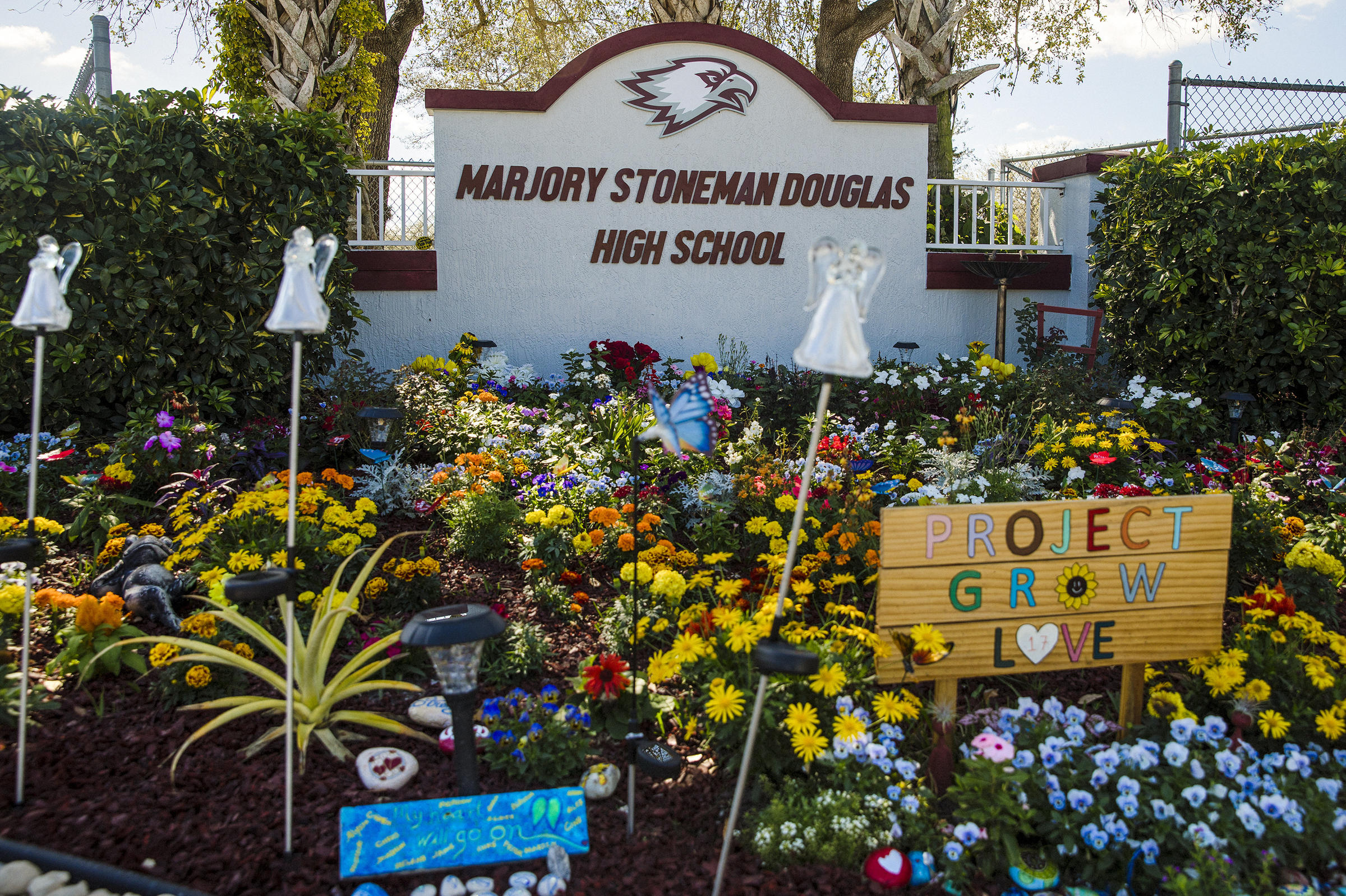 Parkland student survivors brace for 1st anniversary of - Douglas gardens elementary school ...