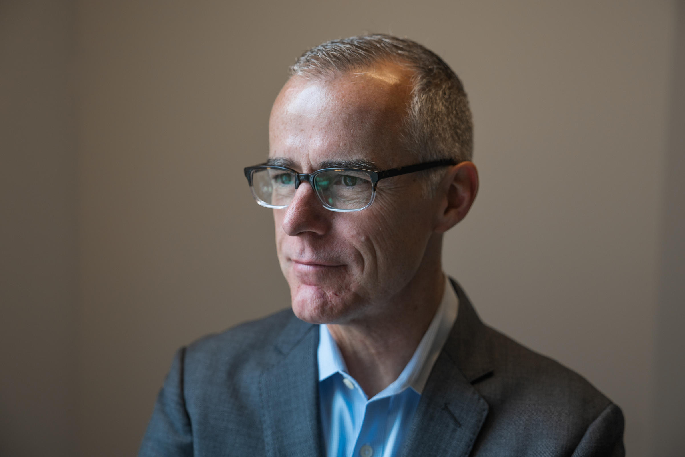 Andrew McCabe, Ex-FBI Deputy, Describes 'Remarkable' Number Of Trump-Russia Contacts