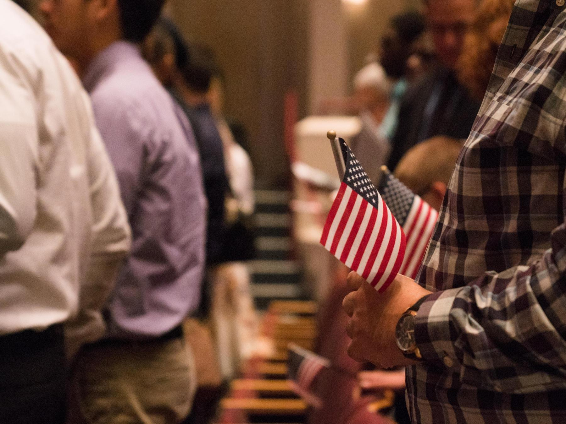 Could You Pass A U.S. Citizenship Test? Well, 63 Percent Of Texans Couldn't.