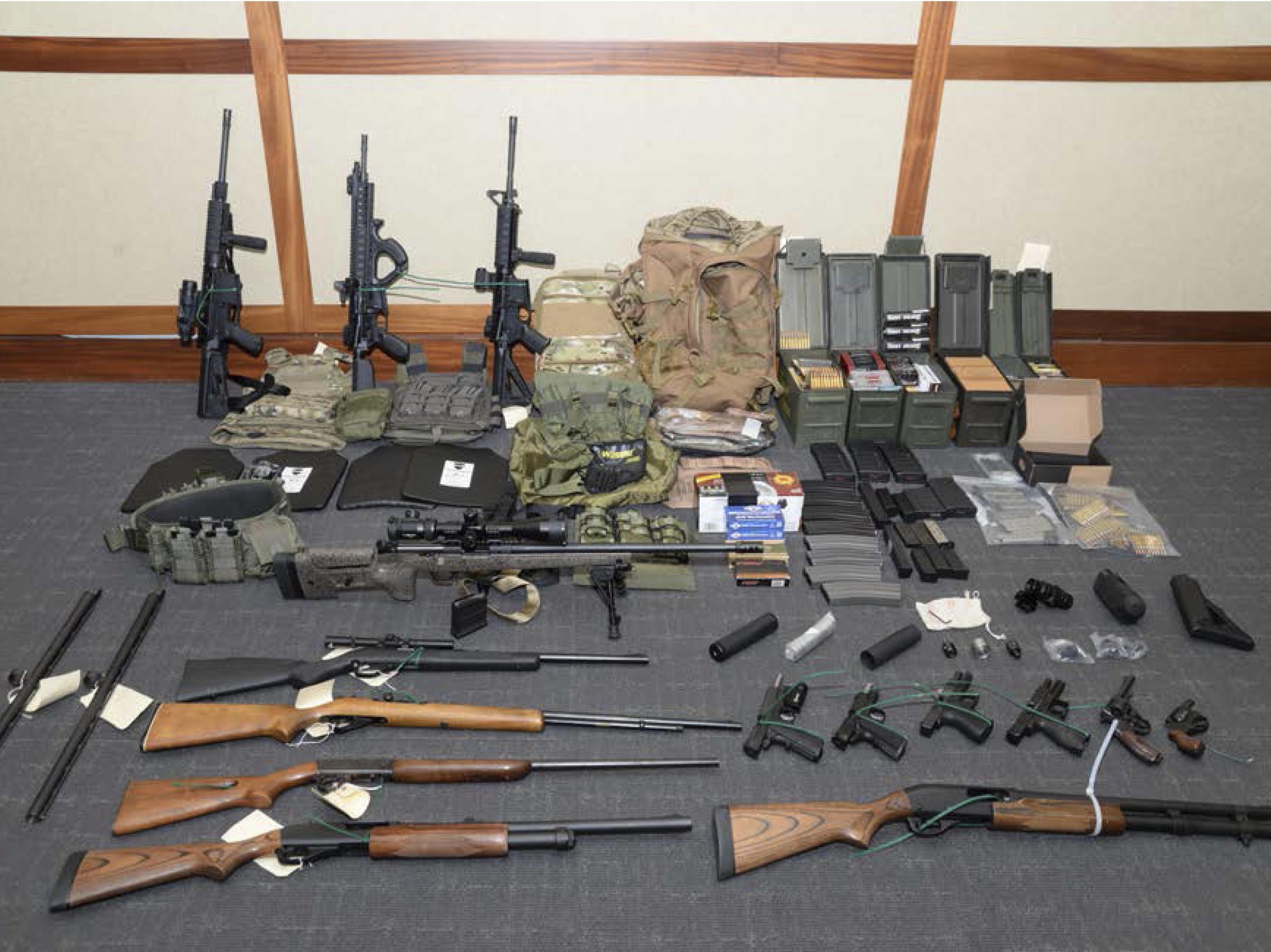 US Coast Guard officer arrested for mass murder plot