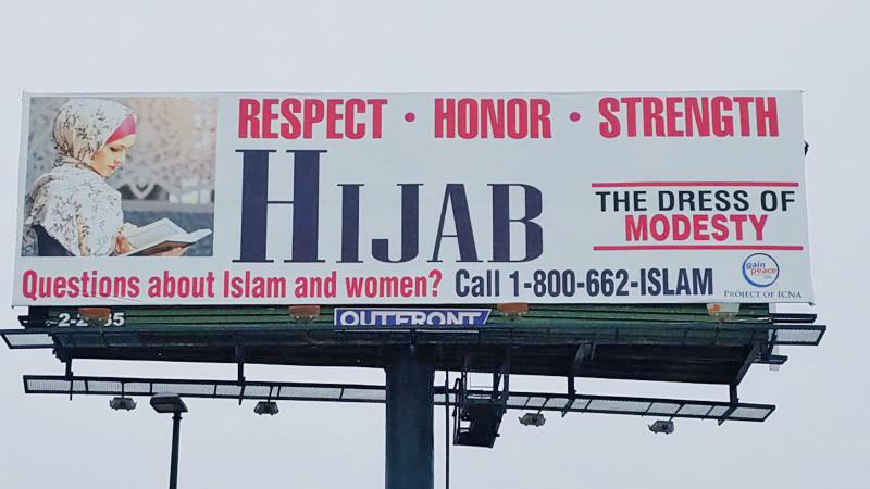 Billboard Campaign In Dallas Aims To Dispel Misconceptions About Islam And The Hijab