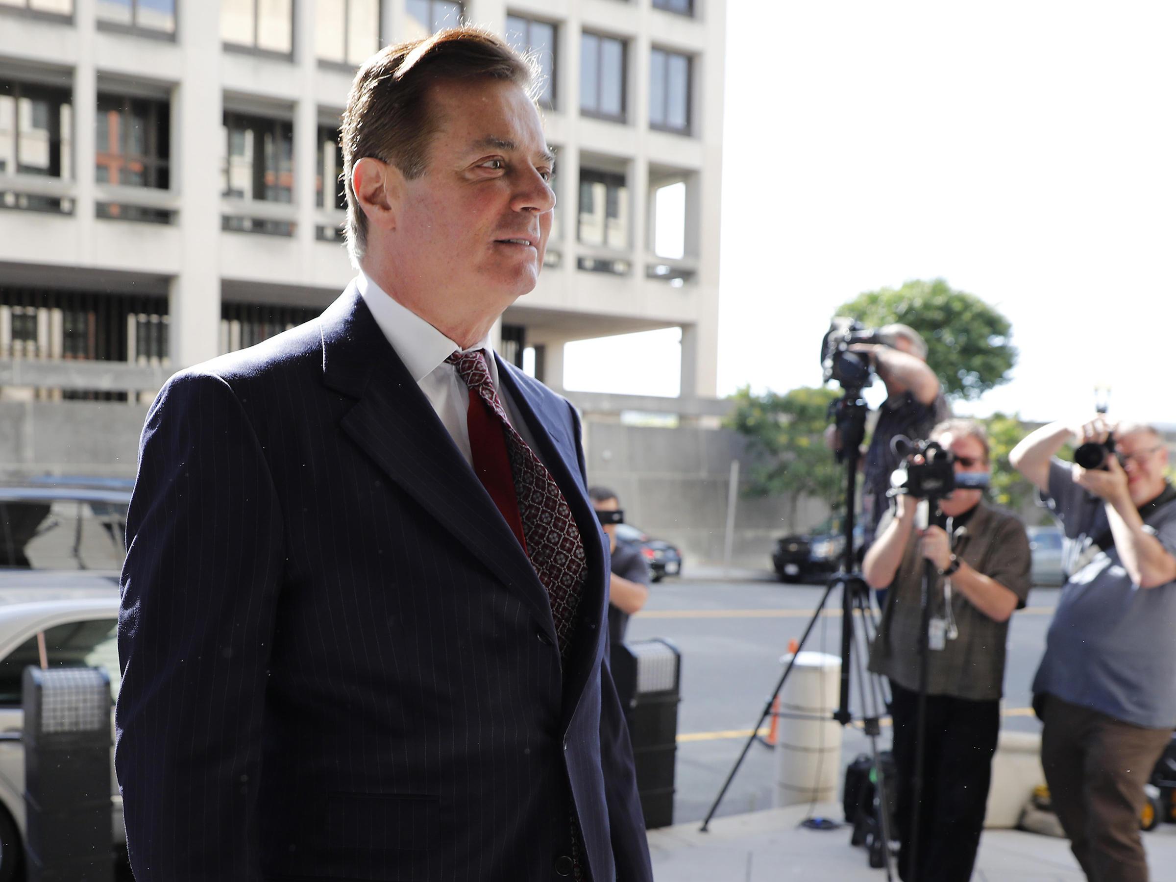 Court Filing: Manafort Asks Judge for Sentence Far Below the Maximum